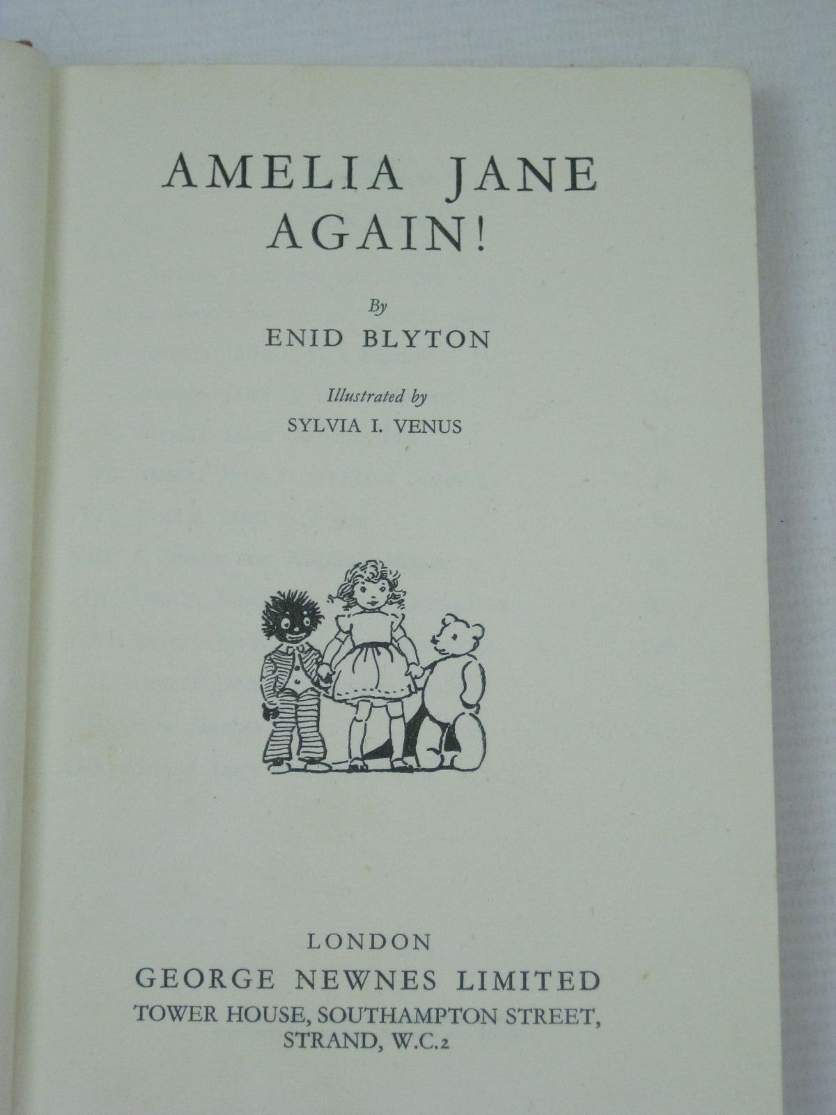 Photo of AMELIA JANE AGAIN written by Blyton, Enid illustrated by Venus, Sylvia published by George Newnes Ltd. (STOCK CODE: 1405858)  for sale by Stella & Rose's Books