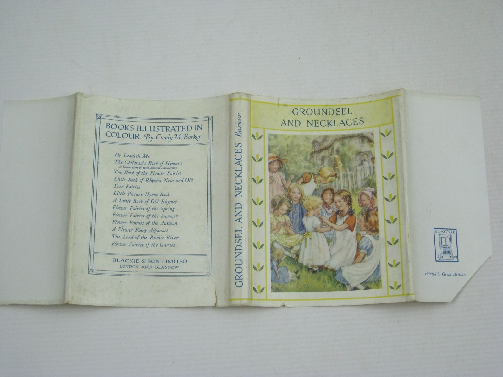 Photo of GROUNDSEL AND NECKLACES written by Barker, Cicely Mary illustrated by Barker, Cicely Mary published by Blackie & Son Ltd. (STOCK CODE: 1405867)  for sale by Stella & Rose's Books