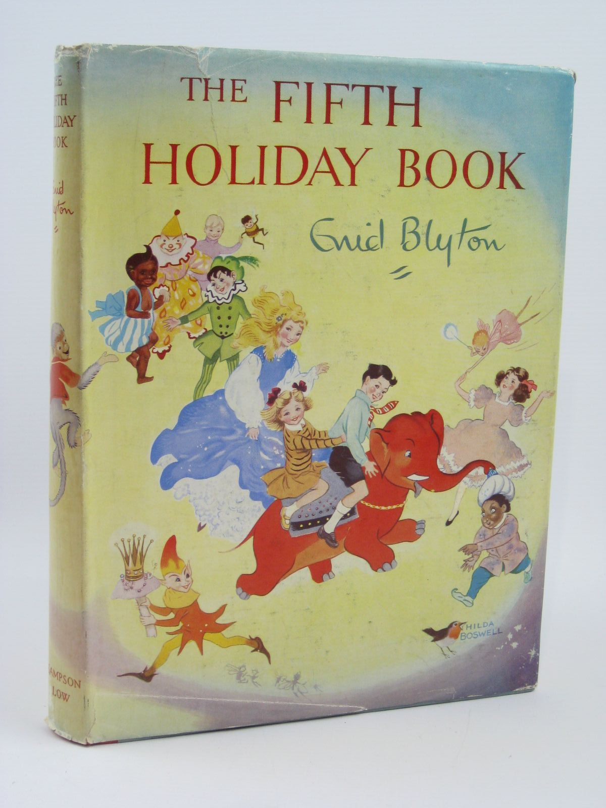 Photo of THE FIFTH HOLIDAY BOOK written by Blyton, Enid illustrated by Lee, Mary Kendal et al.,  published by Sampson Low, Marston & Co. Ltd. (STOCK CODE: 1406154)  for sale by Stella & Rose's Books