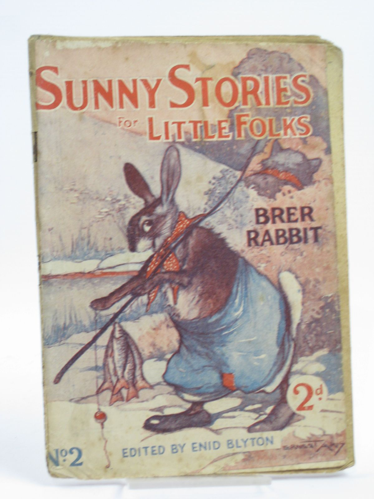 Photo of SUNNY STORIES FOR LITTLE FOLKS No. 2 BRER RABBIT written by Blyton, Enid illustrated by Aris, Ernest A. published by George Newnes (STOCK CODE: 1406176)  for sale by Stella & Rose's Books