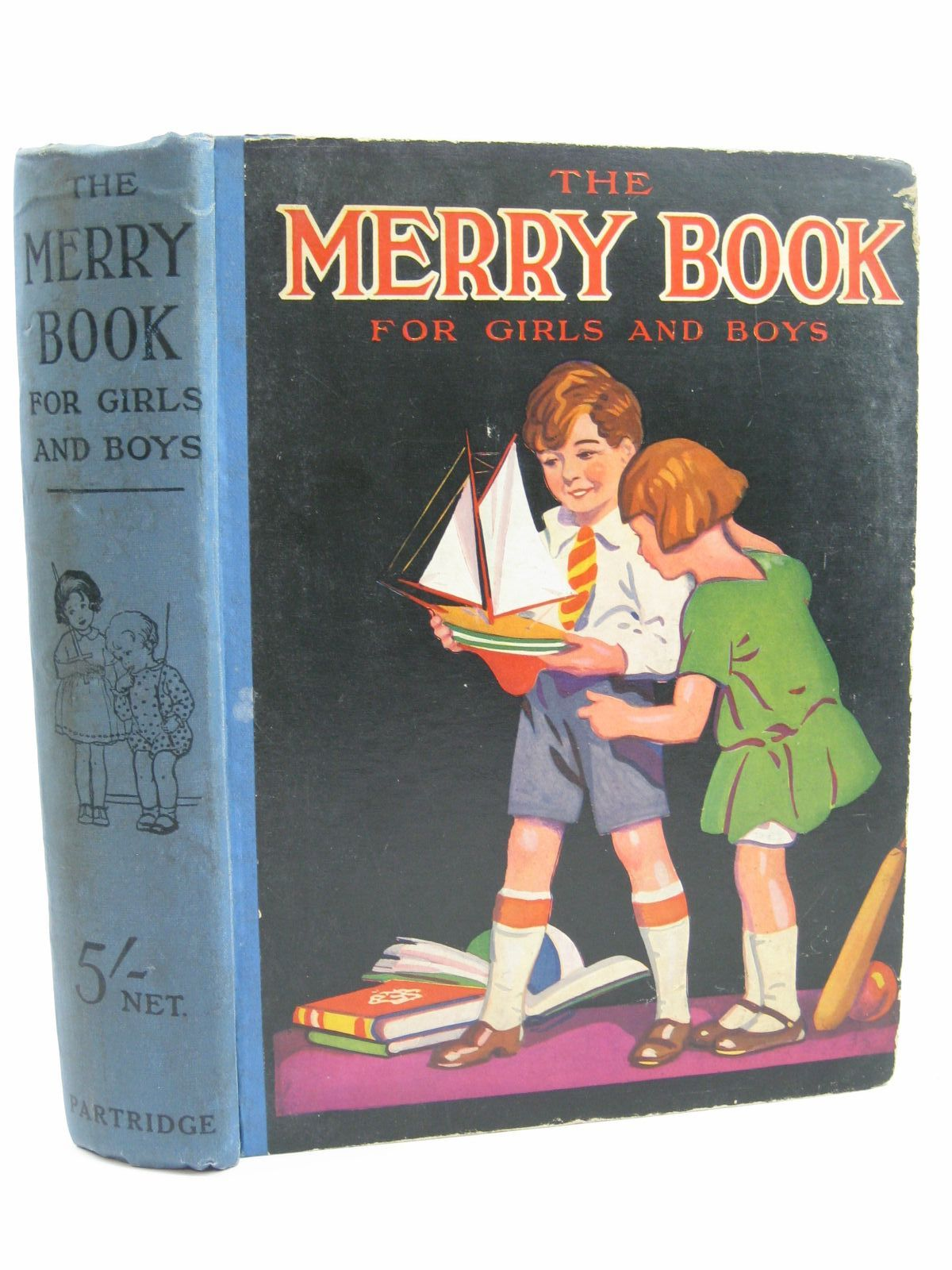 Photo of THE MERRY BOOK FOR GIRLS AND BOYS- Stock Number: 1406210