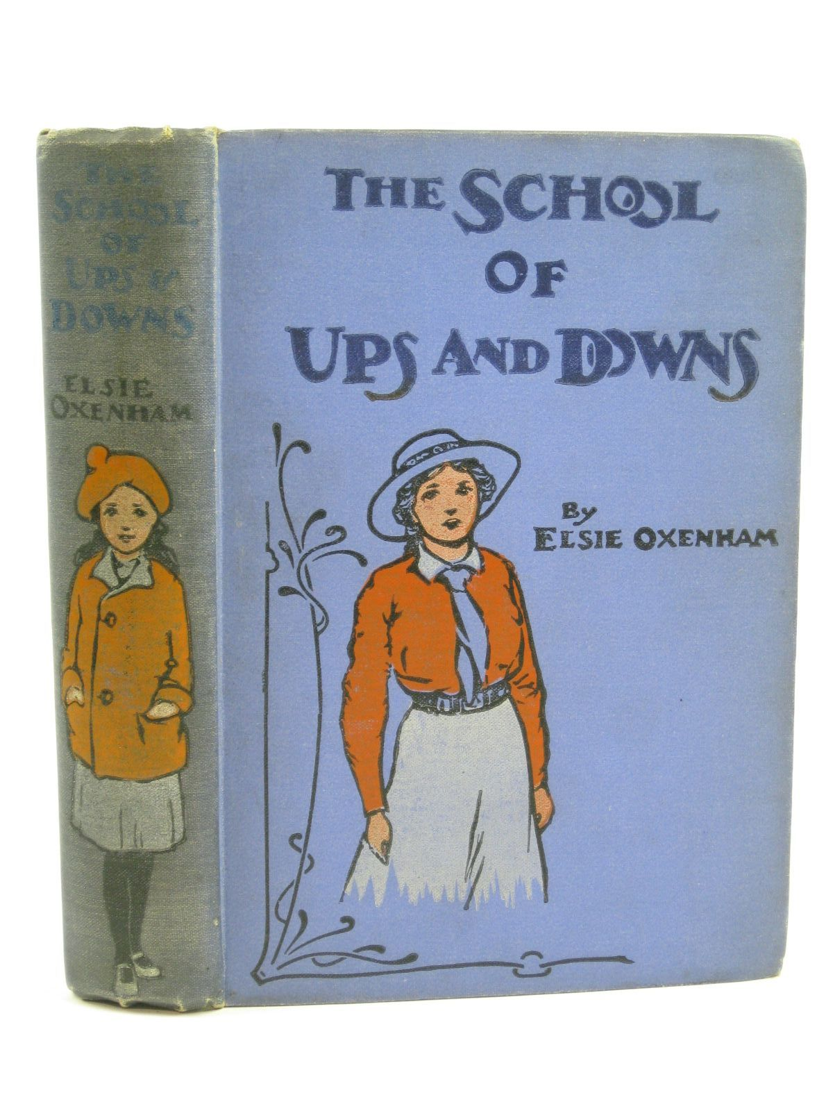 Photo of THE SCHOOL OF UPS AND DOWNS written by Oxenham, Elsie J. illustrated by Earnshaw, Harold C. published by W. & R. Chambers (STOCK CODE: 1406217)  for sale by Stella & Rose's Books