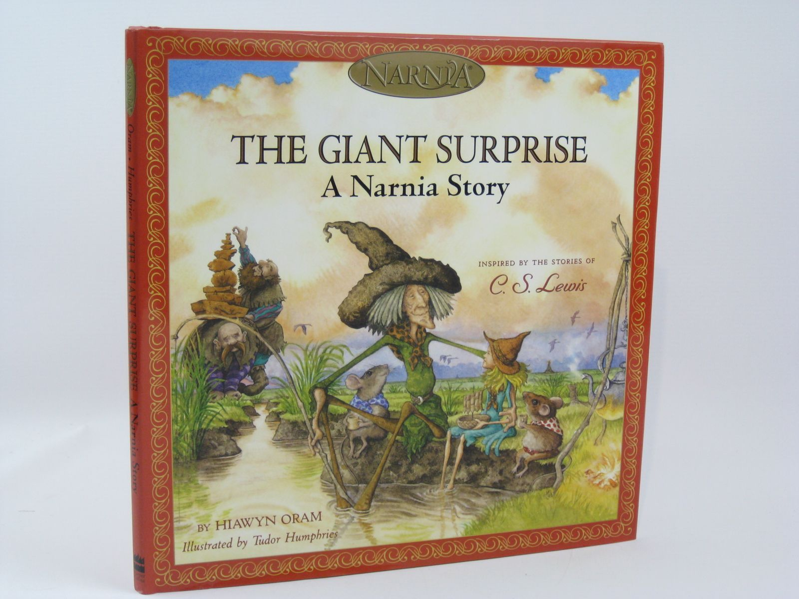 Photo of THE GIANT SURPRISE - A NARNIA STORY written by Oram, Hiawyn illustrated by Humphries, Tudor published by Harper Collins Childrens Books (STOCK CODE: 1406226)  for sale by Stella & Rose's Books