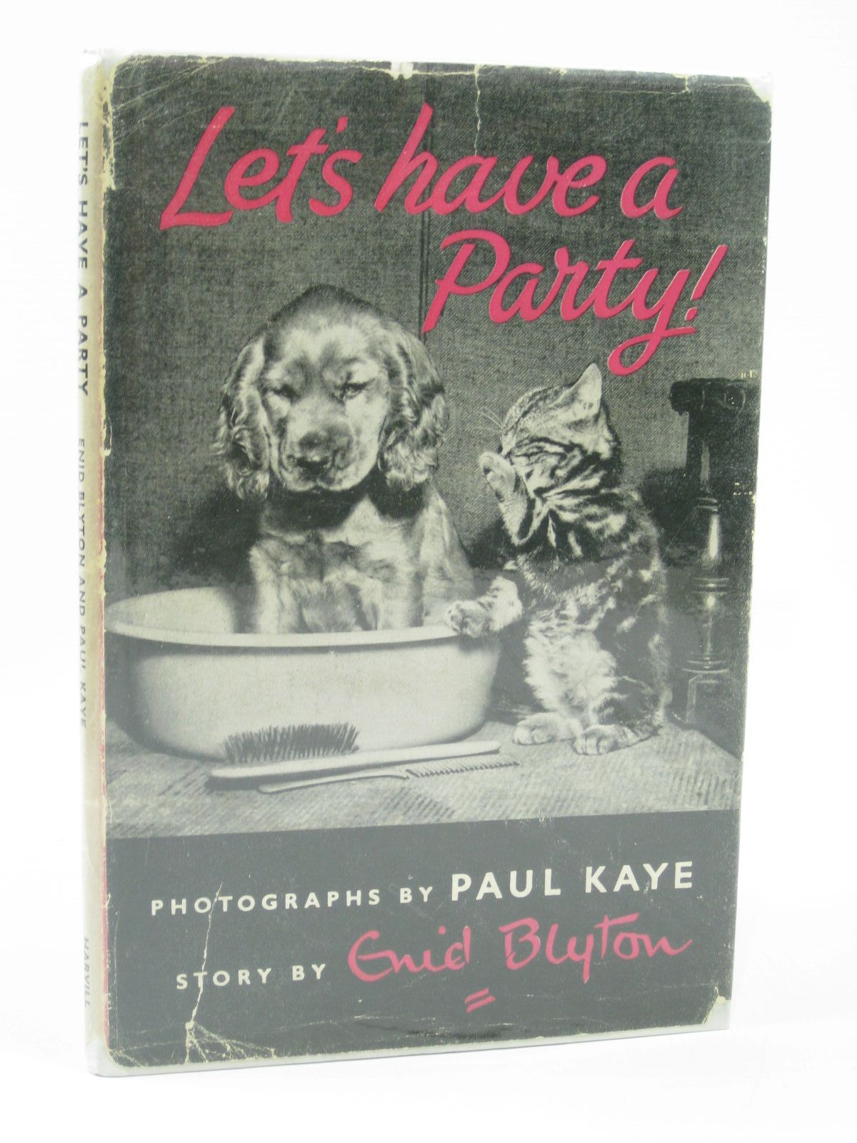 Photo of LET'S HAVE A PARTY! written by Blyton, Enid illustrated by Kaye, Paul published by The Harvill Press (STOCK CODE: 1406288)  for sale by Stella & Rose's Books