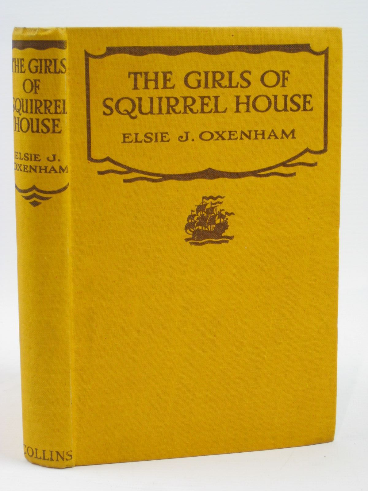 Photo of THE GIRLS OF SQUIRREL HOUSE written by Oxenham, Elsie J. published by Collins Clear-Type Press (STOCK CODE: 1406291)  for sale by Stella & Rose's Books