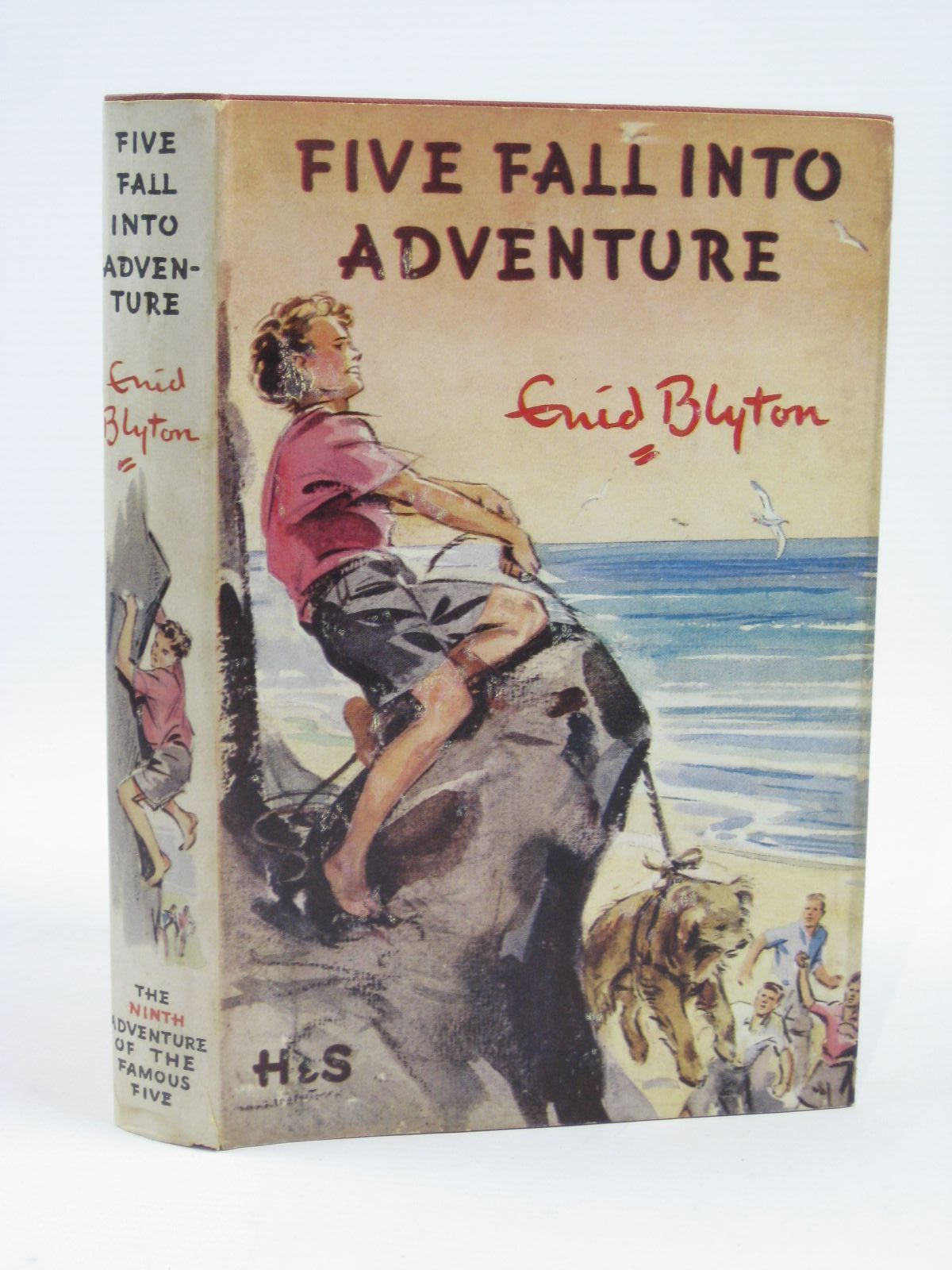 Photo of FIVE FALL INTO ADVENTURE written by Blyton, Enid illustrated by Soper, Eileen published by Hodder & Stoughton (STOCK CODE: 1406322)  for sale by Stella & Rose's Books
