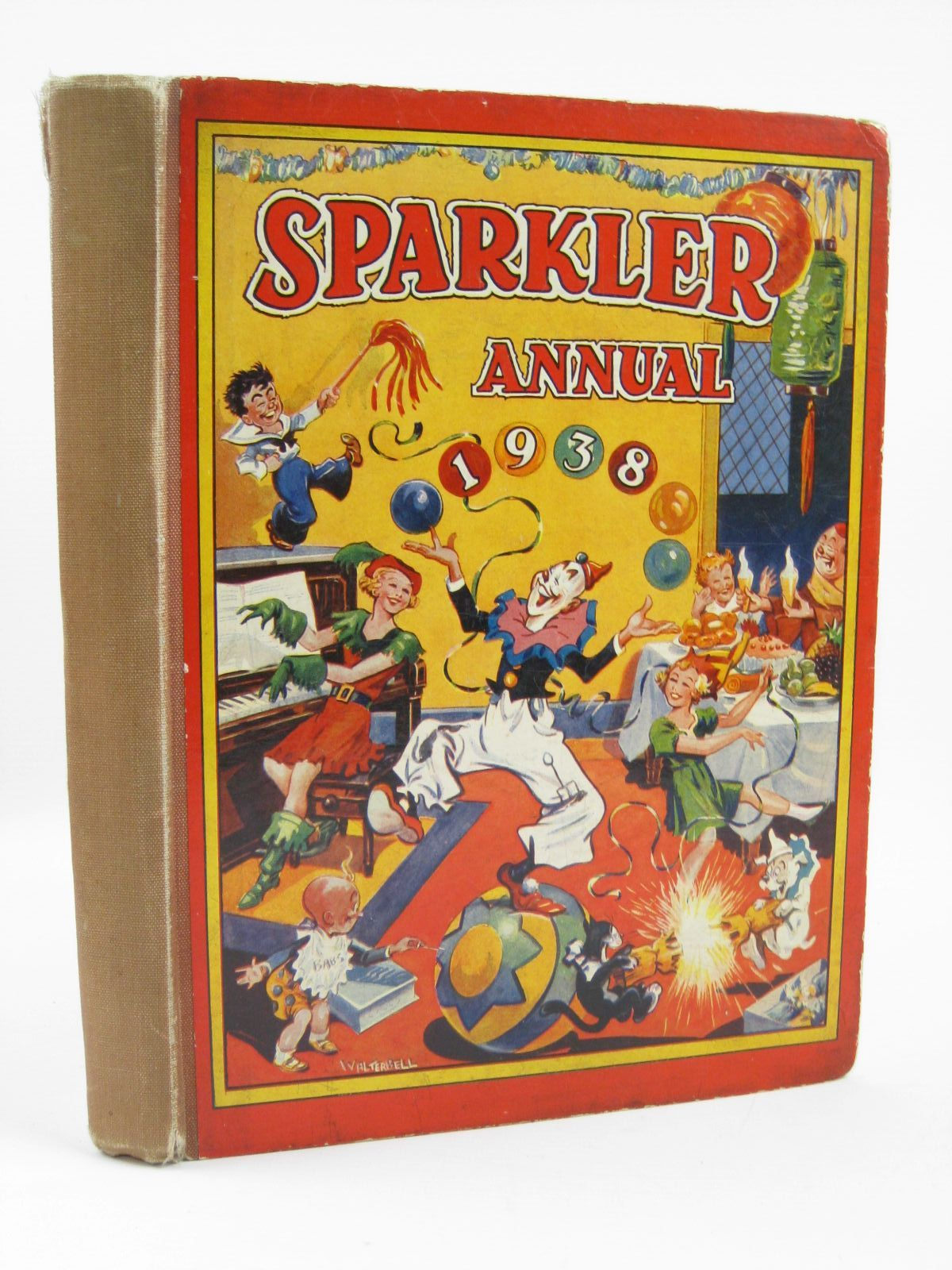 Photo of SPARKLER ANNUAL 1938 published by The Fleetway House (STOCK CODE: 1406353)  for sale by Stella & Rose's Books