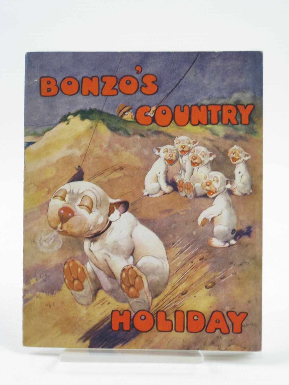 Photo of BONZO'S COUNTRY HOLIDAY written by Studdy, G.E.<br />Jellicoe, George illustrated by Studdy, G.E. published by John Swain &amp; Son Limited, E.P. Dutton &amp; Co. (STOCK CODE: 1406355)  for sale by Stella & Rose's Books