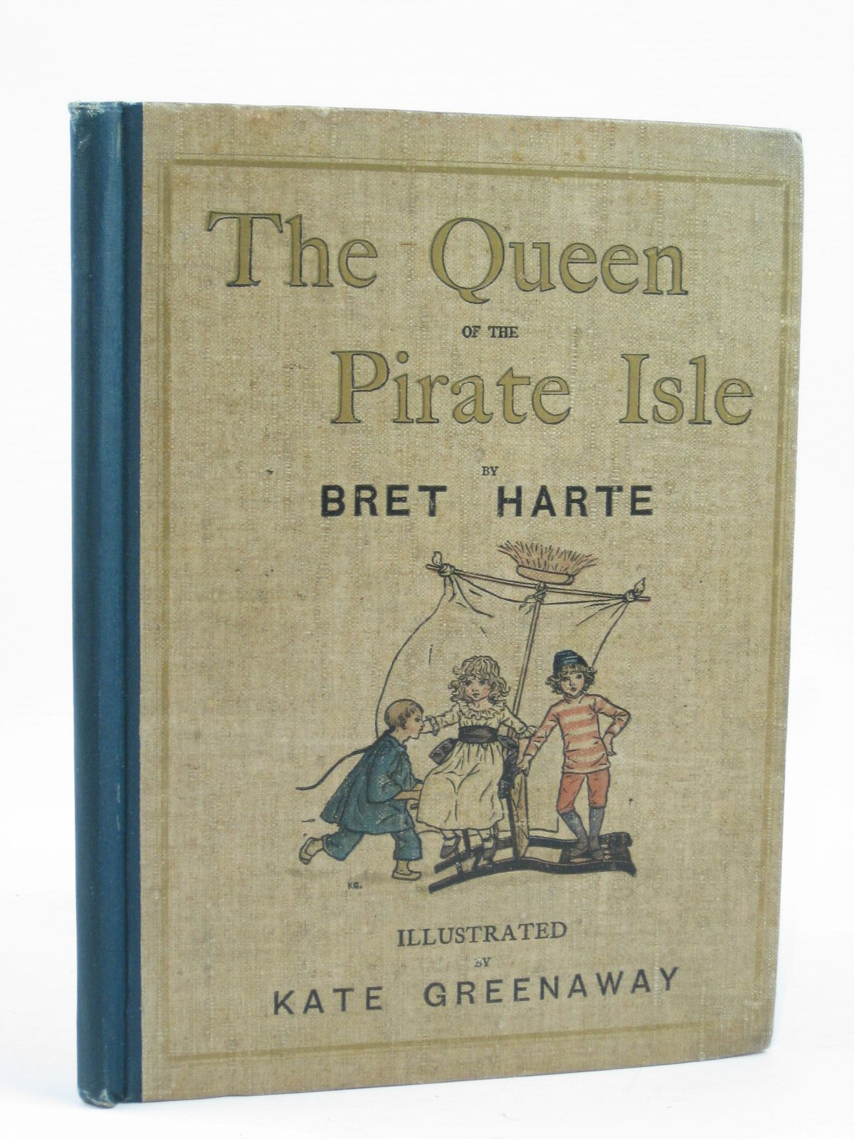 Photo of THE QUEEN OF THE PIRATE ISLE written by Harte, Bret illustrated by Greenaway, Kate published by Frederick Warne & Co. (STOCK CODE: 1406391)  for sale by Stella & Rose's Books
