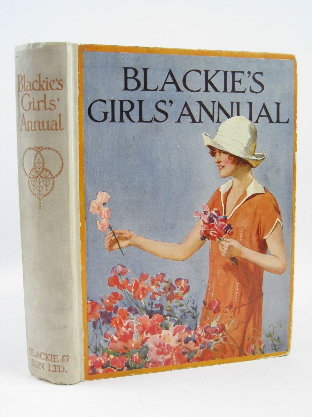Photo of BLACKIE'S GIRLS' ANNUAL written by Joan, Natalie Smith, Evelyn Brazil, Angela Gunn, Alice Parry Westrup, Joyce M. Holmes, Lilian Middleton, Lady et al,  illustrated by Wiles, Frank E. Hickling, P.B. Brock, C.E. Wilson, Radcliffe et al.,  published by Blackie & Son Ltd. (STOCK CODE: 1406404)  for sale by Stella & Rose's Books