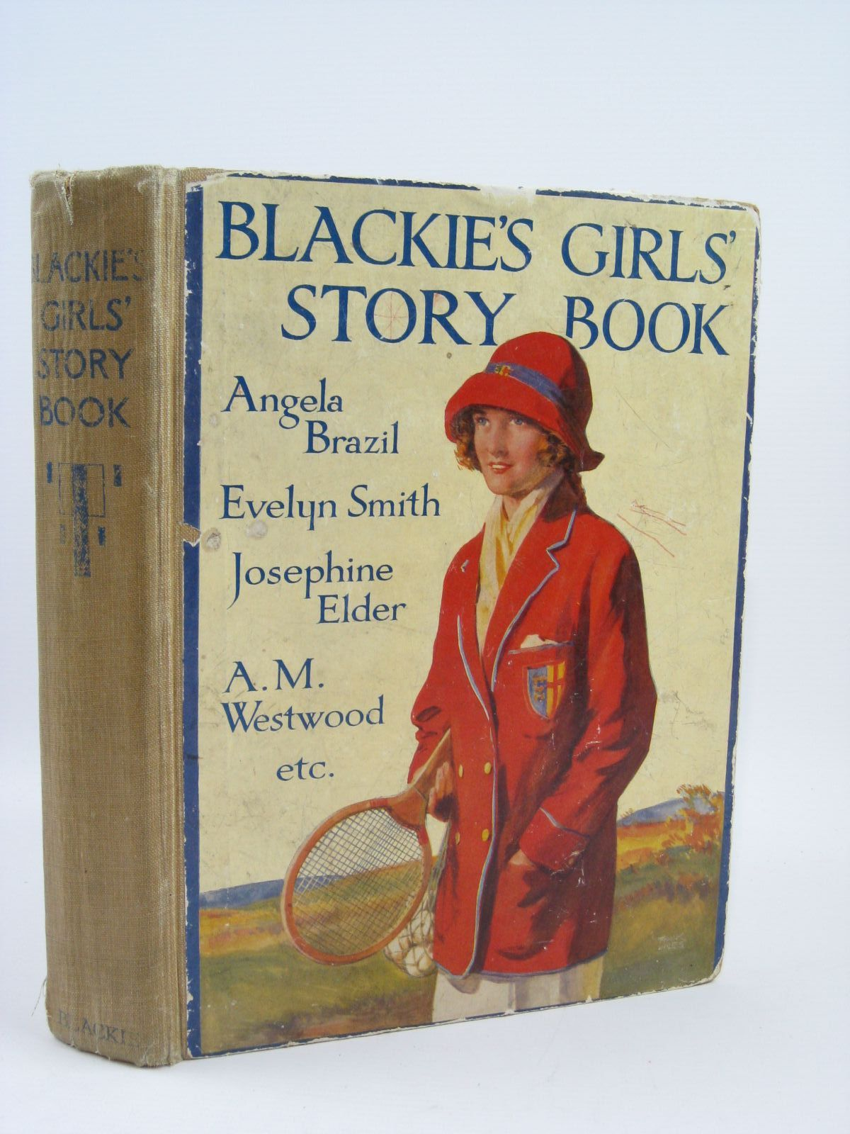 Photo of BLACKIE'S GIRLS' STORY BOOK written by Brazil, Angela<br />Elder, Josephine<br />Pocock, Doris<br />Moore, Dorothea<br />et al,  illustrated by Brock, H.M.<br />Brock, C.E.<br />Hickling, P.B.<br />et al., published by Blackie &amp; Son Ltd. (STOCK CODE: 1406409)  for sale by Stella & Rose's Books