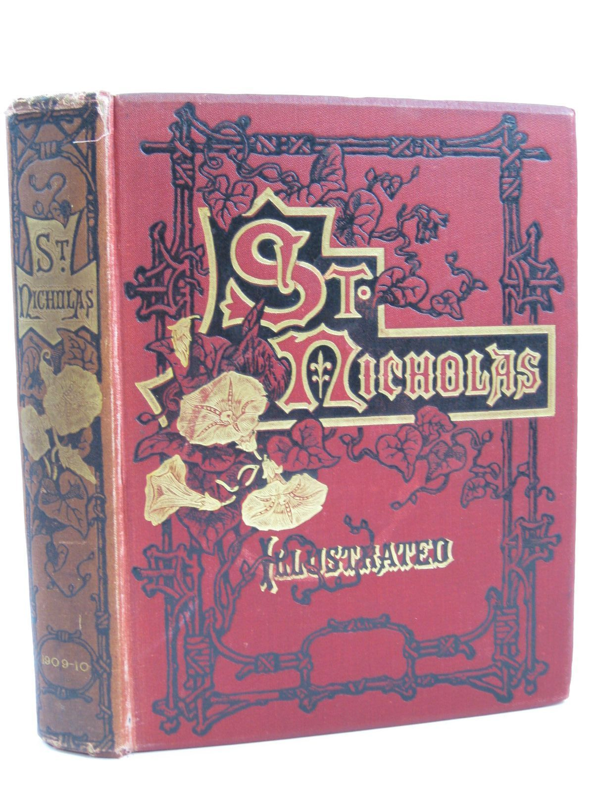 Photo of ST. NICHOLAS VOL XXXVII PART I NOVEMBER 1909 - APRIL 1910 written by Gilson, Captain Charles et al, published by The Century Co., Frederick Warne & Co. (STOCK CODE: 1406413)  for sale by Stella & Rose's Books