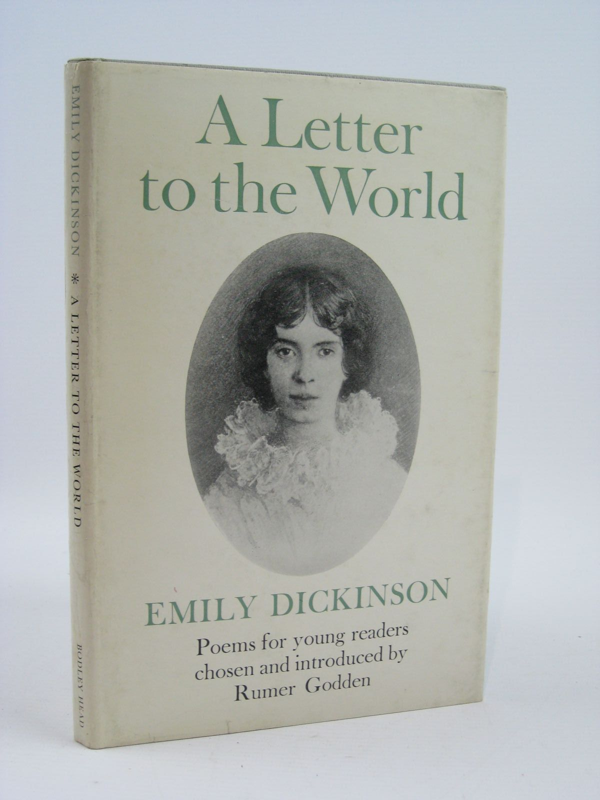 Photo of A LETTER TO THE WORLD written by Dickinson, Emily illustrated by Seward, Prudence published by The Bodley Head (STOCK CODE: 1406420)  for sale by Stella & Rose's Books