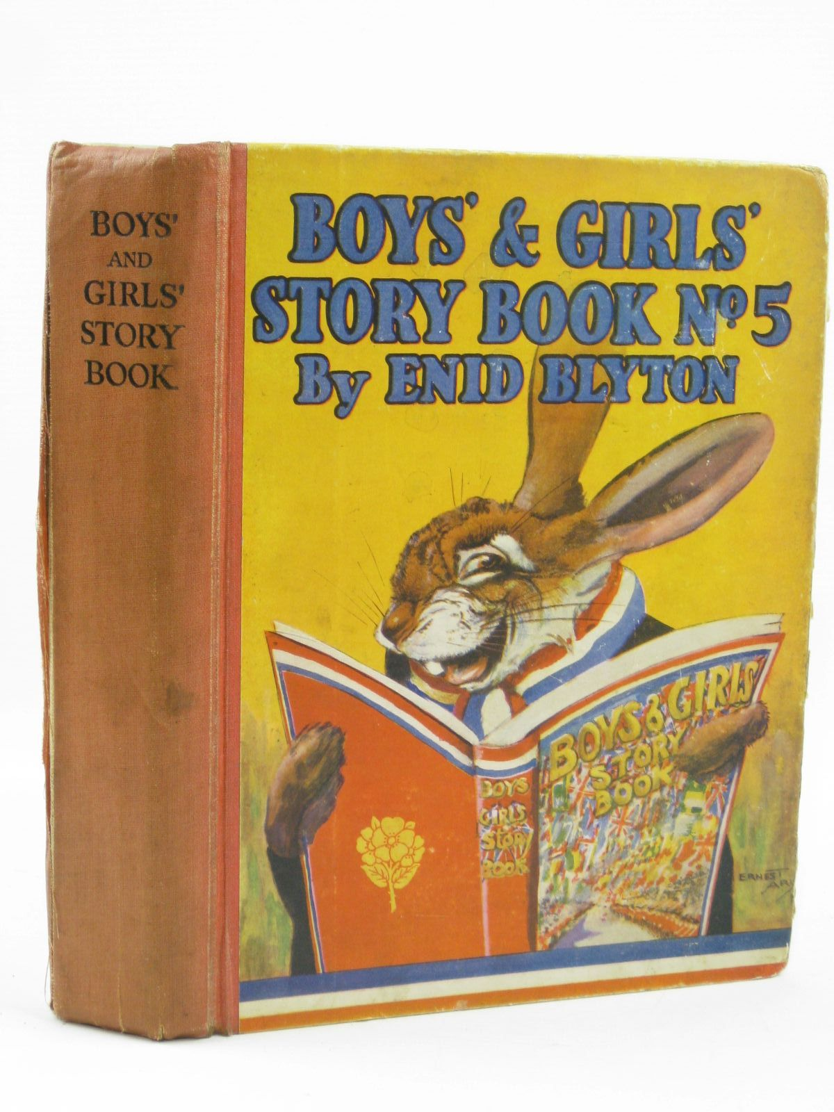 Photo of BOYS' AND GIRLS' STORY BOOK No. 5- Stock Number: 1406444