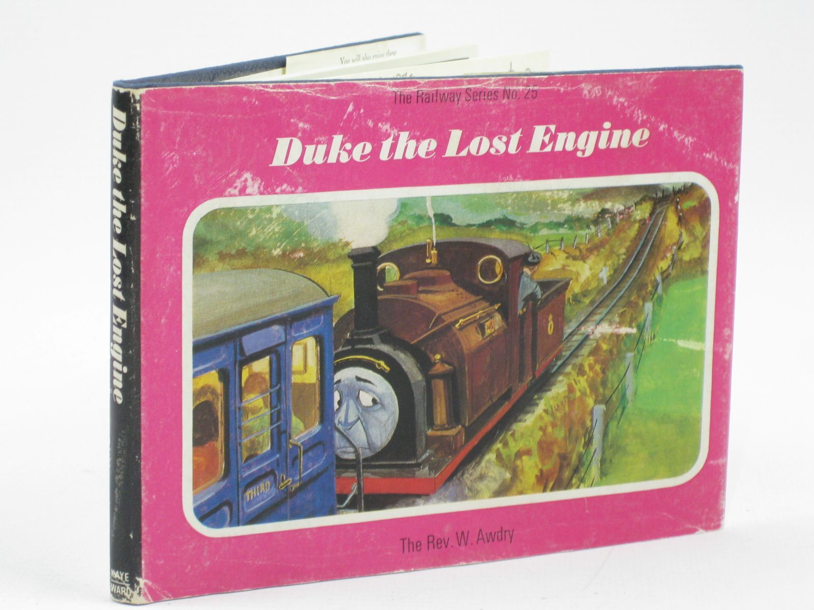 Photo of DUKE THE LOST ENGINE written by Awdry, Rev. W. illustrated by Edwards, Gunvor<br />Edwards, Peter published by Kaye &amp; Ward Ltd. (STOCK CODE: 1406477)  for sale by Stella & Rose's Books