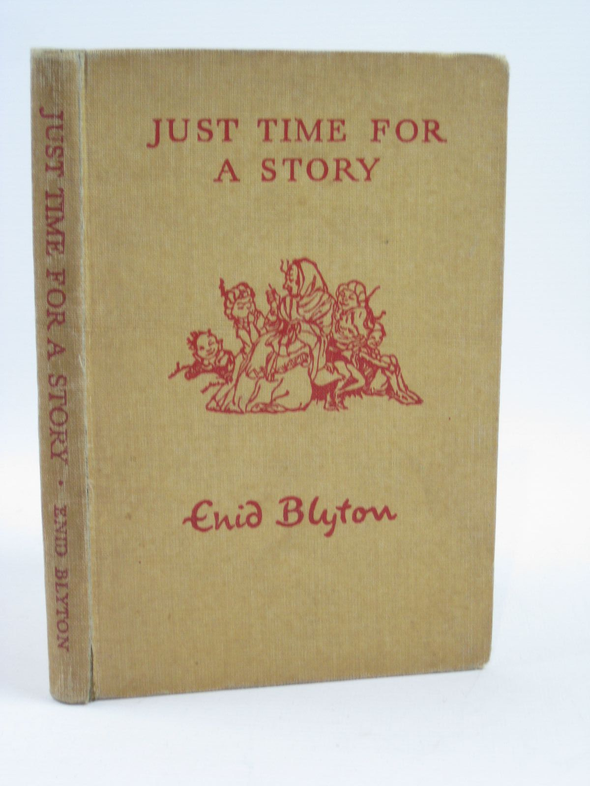 Photo of JUST TIME FOR A STORY written by Blyton, Enid illustrated by Lodge, Grace published by Macmillan & Co. Ltd. (STOCK CODE: 1406485)  for sale by Stella & Rose's Books