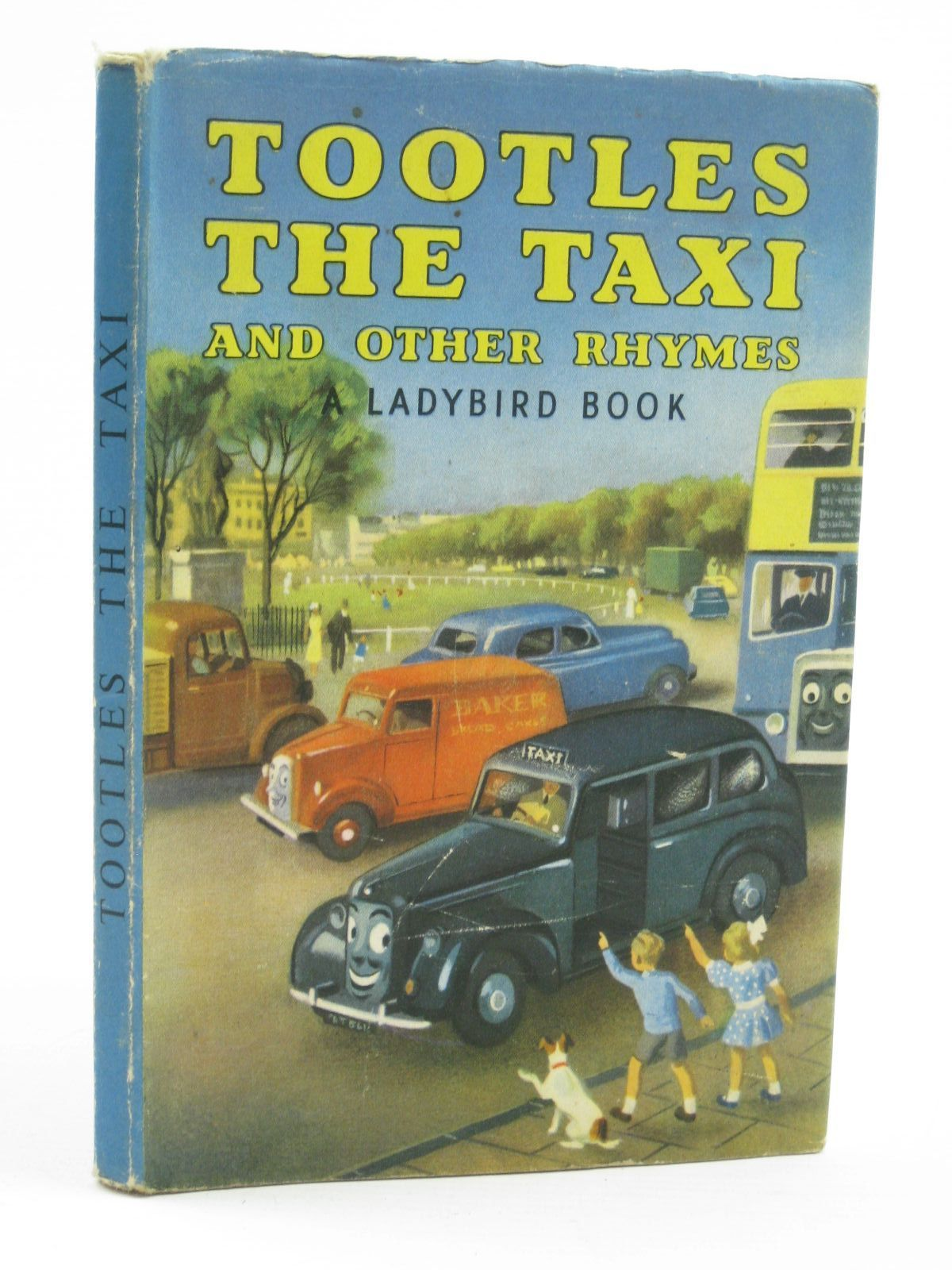 Photo of TOOTLES THE TAXI AND OTHER RHYMES written by Clegg, Joyce B. illustrated by Kenney, John published by Wills & Hepworth Ltd. (STOCK CODE: 1406616)  for sale by Stella & Rose's Books