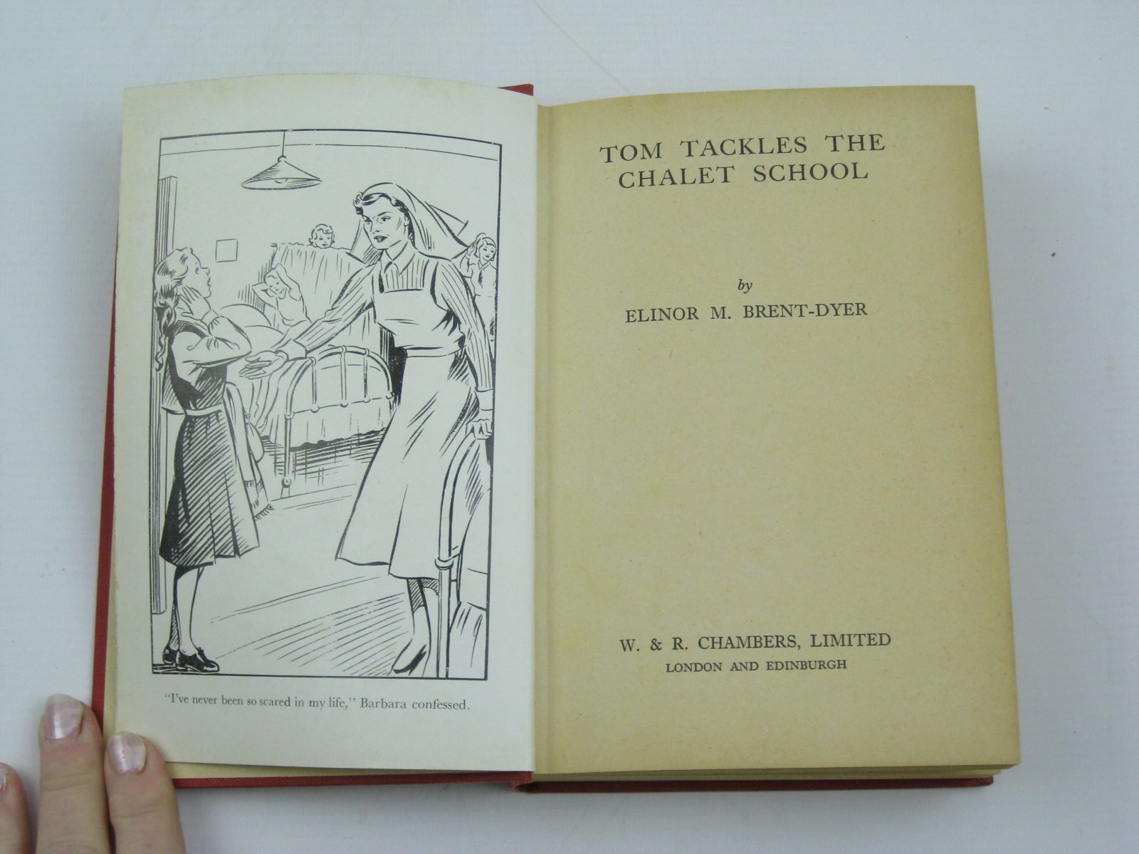 Photo of TOM TACKLES THE CHALET SCHOOL written by Brent-Dyer, Elinor M. published by W. & R. Chambers Limited (STOCK CODE: 1406632)  for sale by Stella & Rose's Books