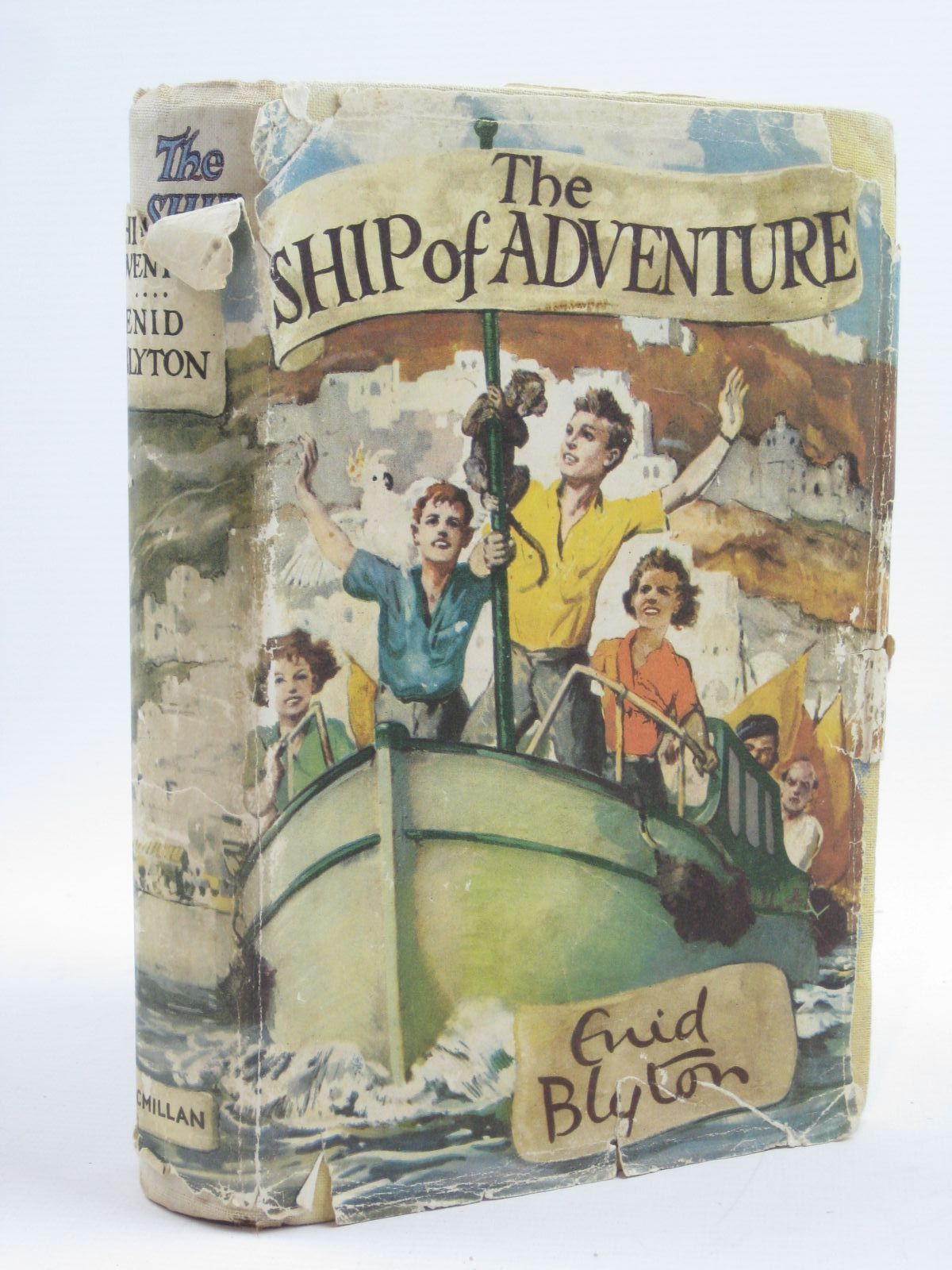Photo of THE SHIP OF ADVENTURE written by Blyton, Enid illustrated by Tresilian, Stuart published by Macmillan & Co. Ltd. (STOCK CODE: 1406706)  for sale by Stella & Rose's Books