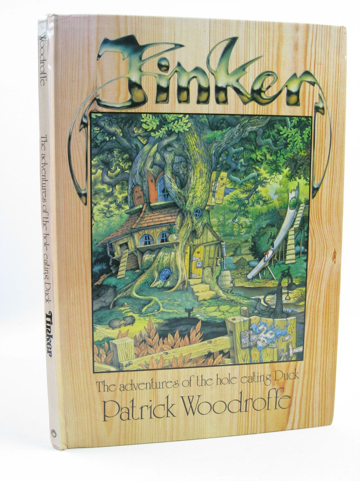 Photo of THE ADVENTURES OF TINKER THE HOLE-EATING DUCK written by Woodroffe, Patrick illustrated by Woodroffe, Patrick published by Dragon's World (STOCK CODE: 1406752)  for sale by Stella & Rose's Books
