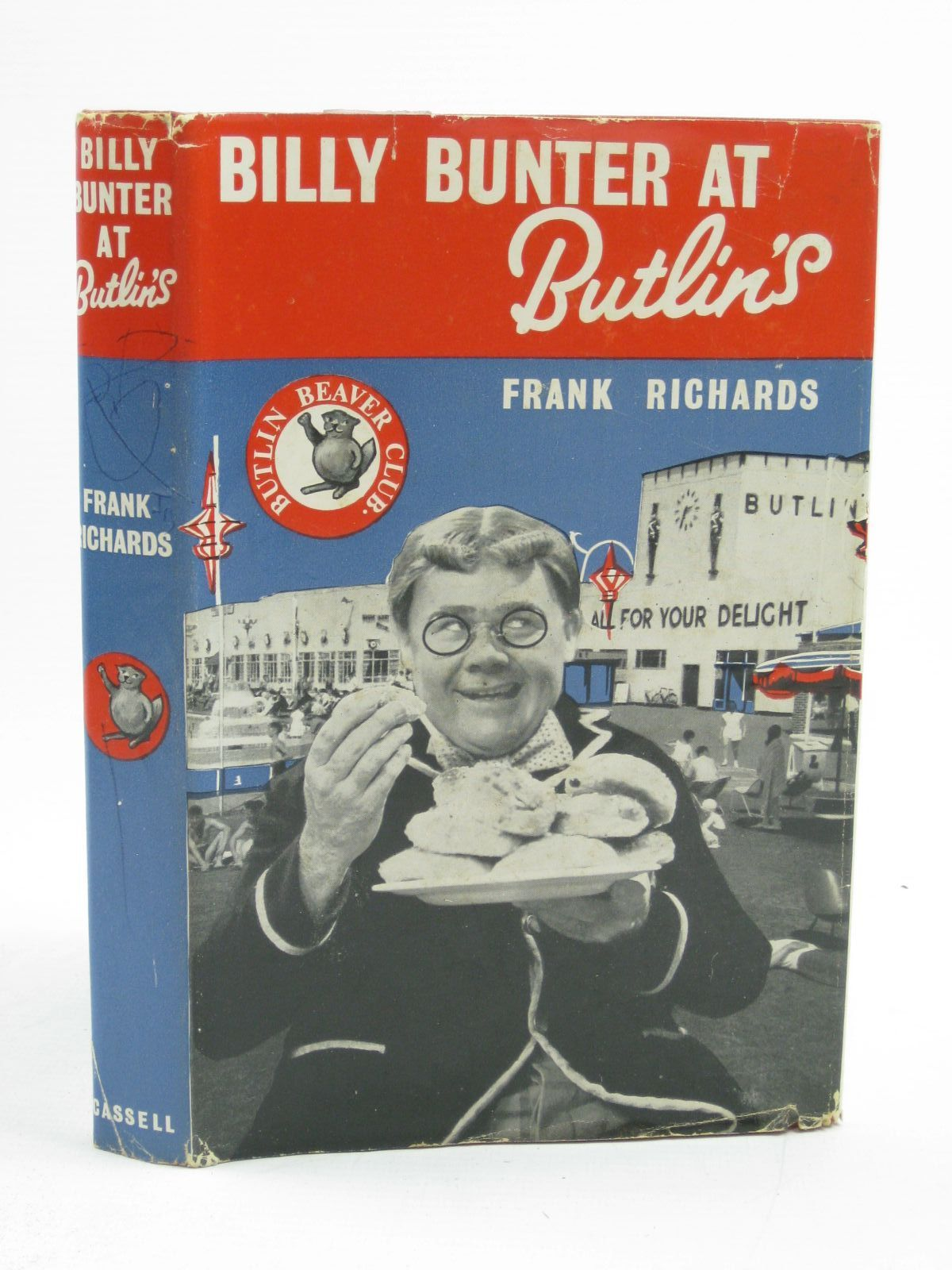 Photo of BILLY BUNTER AT BUTLIN'S written by Richards, Frank illustrated by Chapman, C.H. published by Cassell & Co. (STOCK CODE: 1406766)  for sale by Stella & Rose's Books