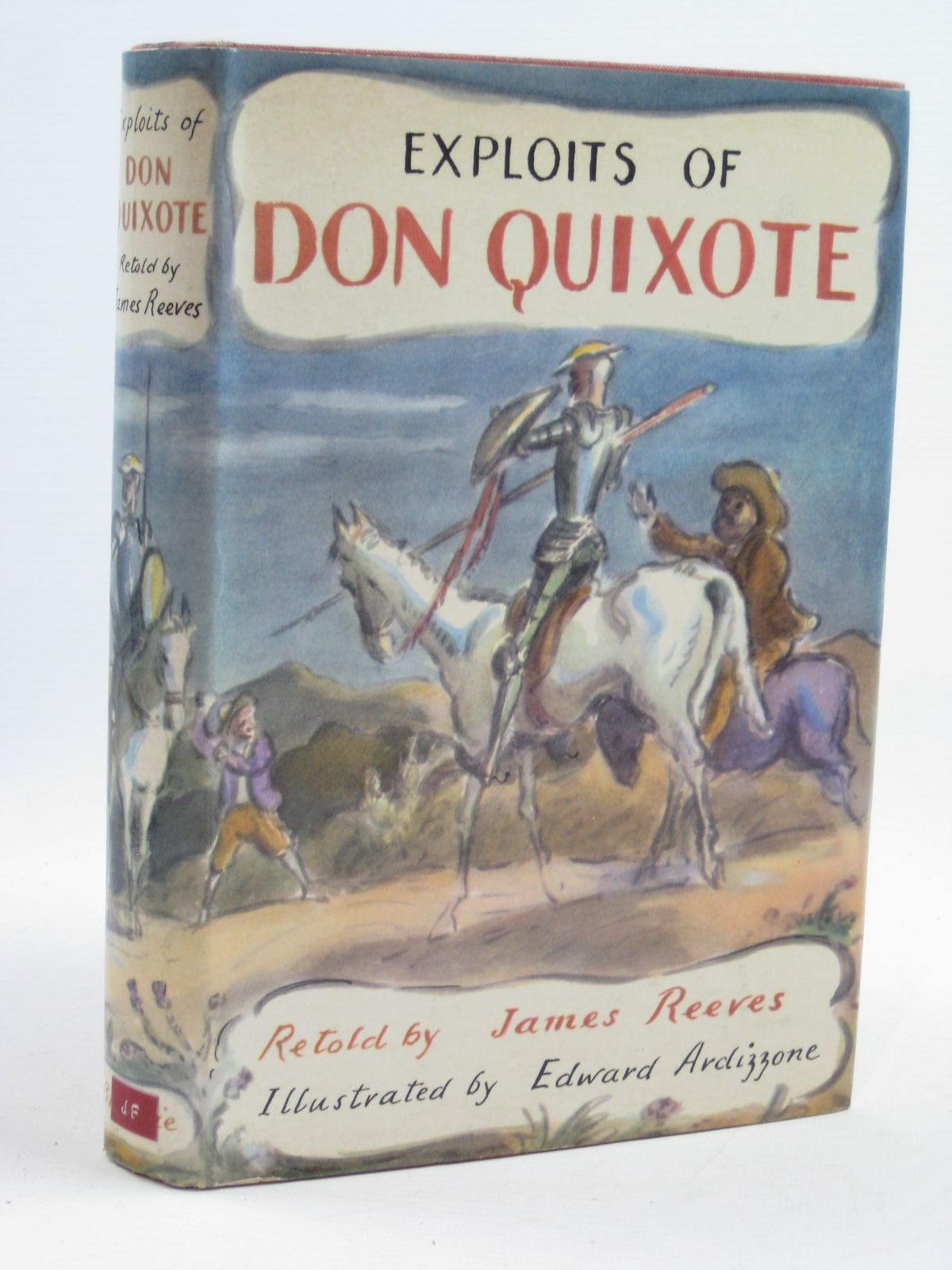 Photo of EXPLOITS OF DON QUIXOTE written by Reeves, James illustrated by Ardizzone, Edward published by Blackie & Son Ltd. (STOCK CODE: 1406808)  for sale by Stella & Rose's Books