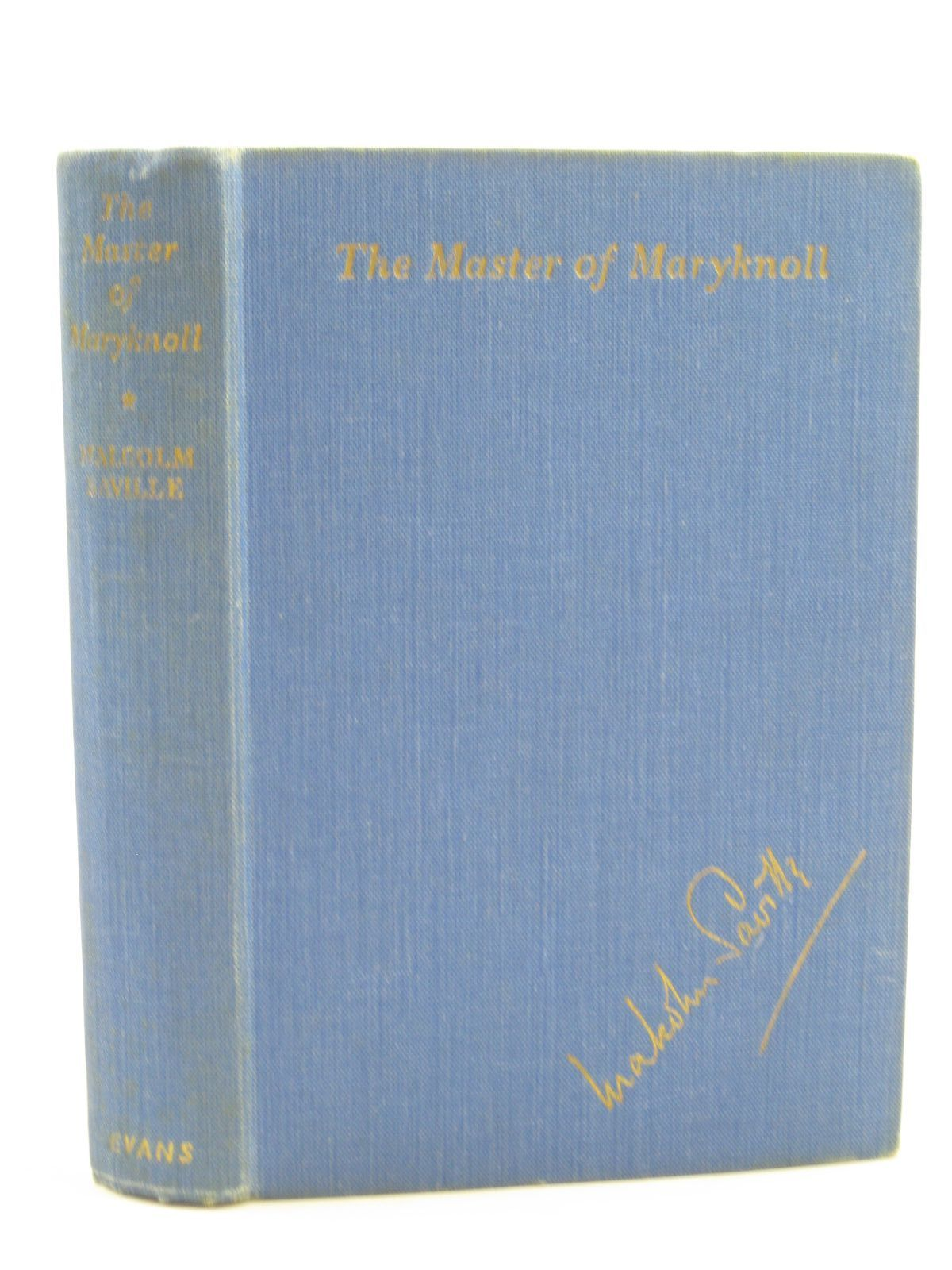 Photo of THE MASTER OF MARYKNOLL written by Saville, Malcolm illustrated by Bush, Alice published by Evans Brothers Limited (STOCK CODE: 1406838)  for sale by Stella & Rose's Books