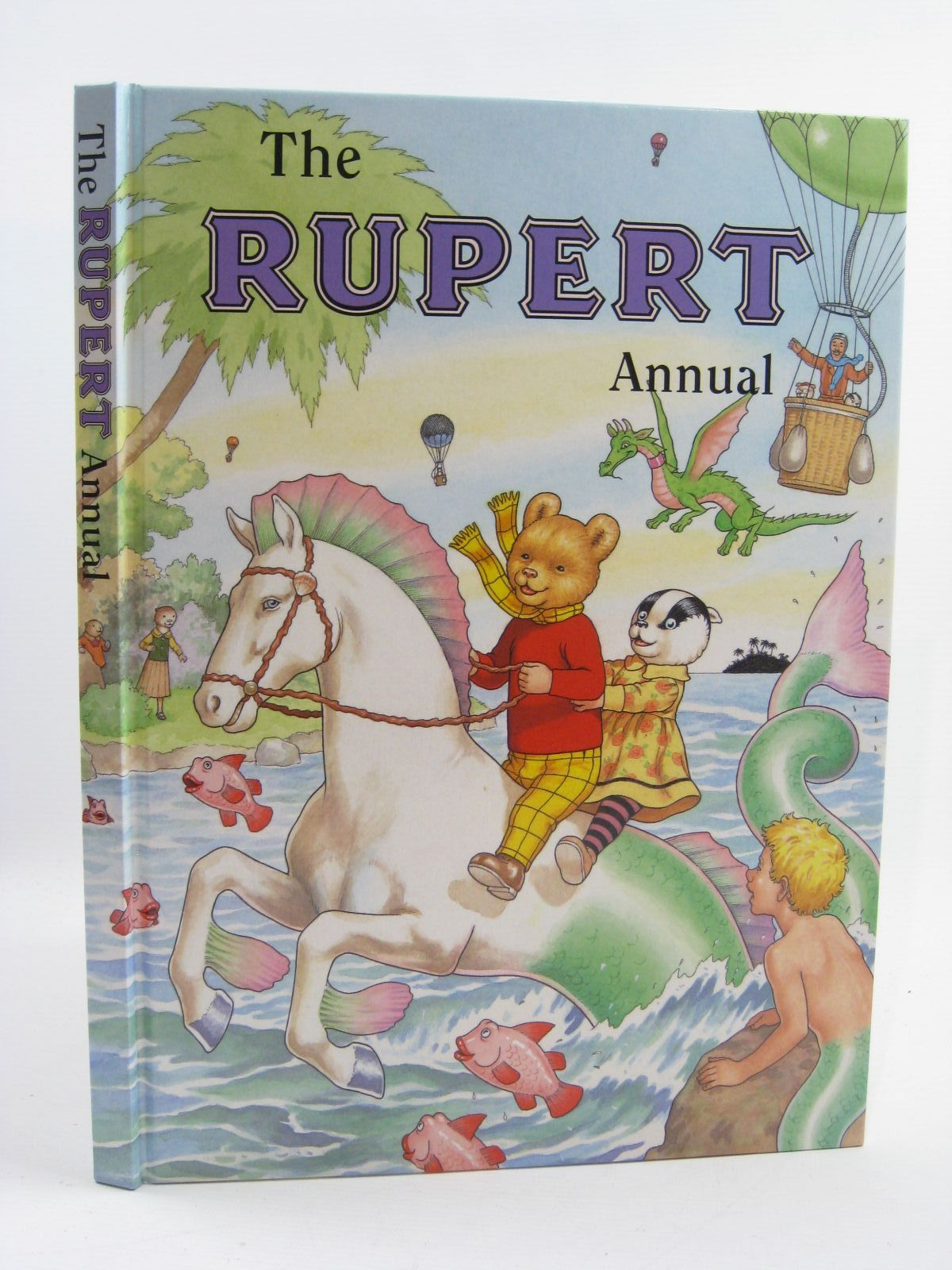 Photo of RUPERT ANNUAL 2001 written by Robinson, Ian illustrated by Harrold, John published by Pedigree Books Limited (STOCK CODE: 1406884)  for sale by Stella & Rose's Books