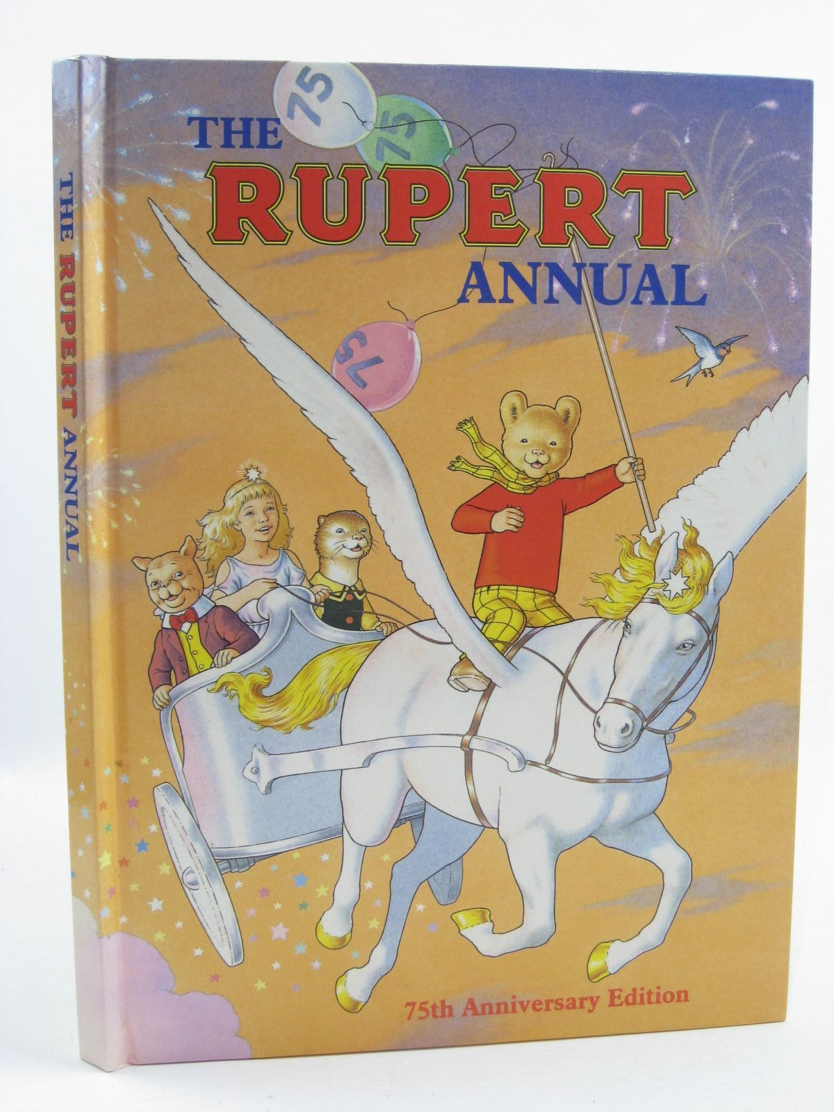 Photo of RUPERT ANNUAL 1995 written by Robinson, Ian illustrated by Harrold, John published by Pedigree Books Limited (STOCK CODE: 1406885)  for sale by Stella & Rose's Books