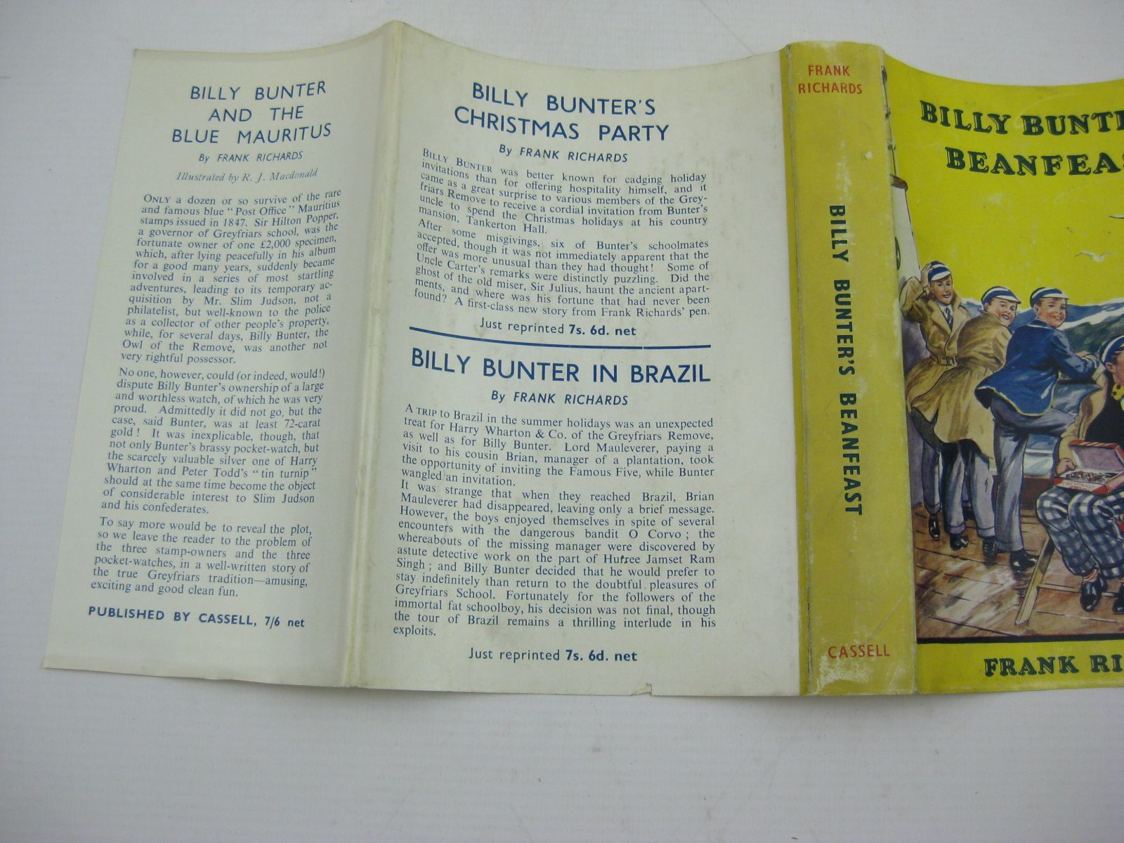 Photo of BILLY BUNTER'S BEANFEAST written by Richards, Frank illustrated by Macdonald, R.J. published by Cassell & Company Ltd (STOCK CODE: 1406887)  for sale by Stella & Rose's Books