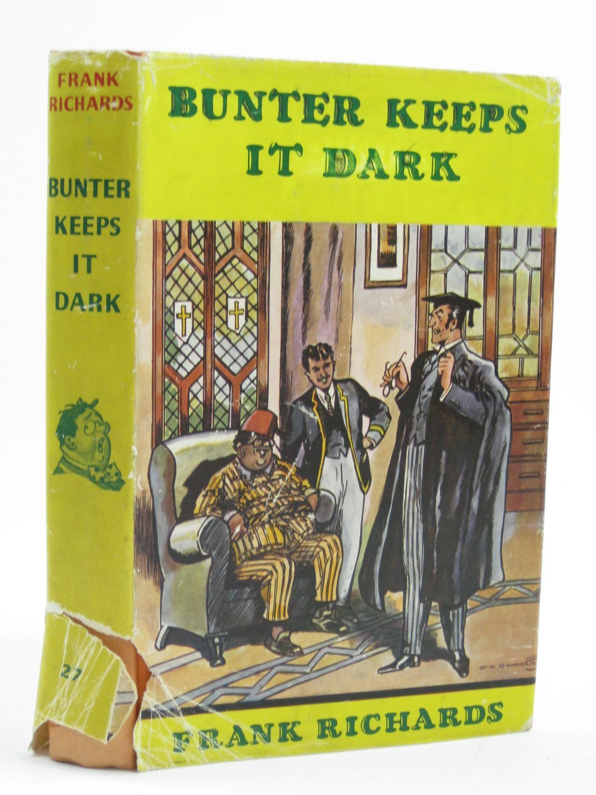 Photo of BUNTER KEEPS IT DARK written by Richards, Frank illustrated by Chapman, C.H. published by Cassell & Company Ltd (STOCK CODE: 1406902)  for sale by Stella & Rose's Books