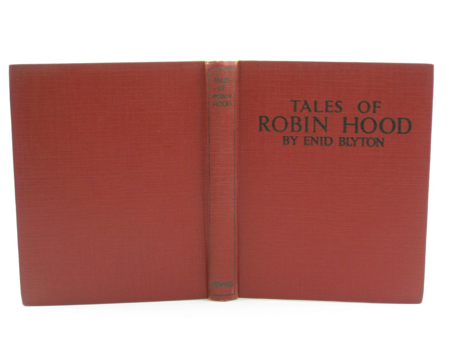 Photo of TALES OF ROBIN HOOD written by Blyton, Enid published by George Newnes (STOCK CODE: 1406937)  for sale by Stella & Rose's Books