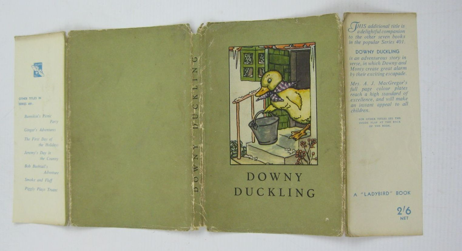 Photo of DOWNY DUCKLING written by Macgregor, A.J.<br />Perring, W. illustrated by Macgregor, A.J. published by Wills &amp; Hepworth Ltd. (STOCK CODE: 1406986)  for sale by Stella & Rose's Books