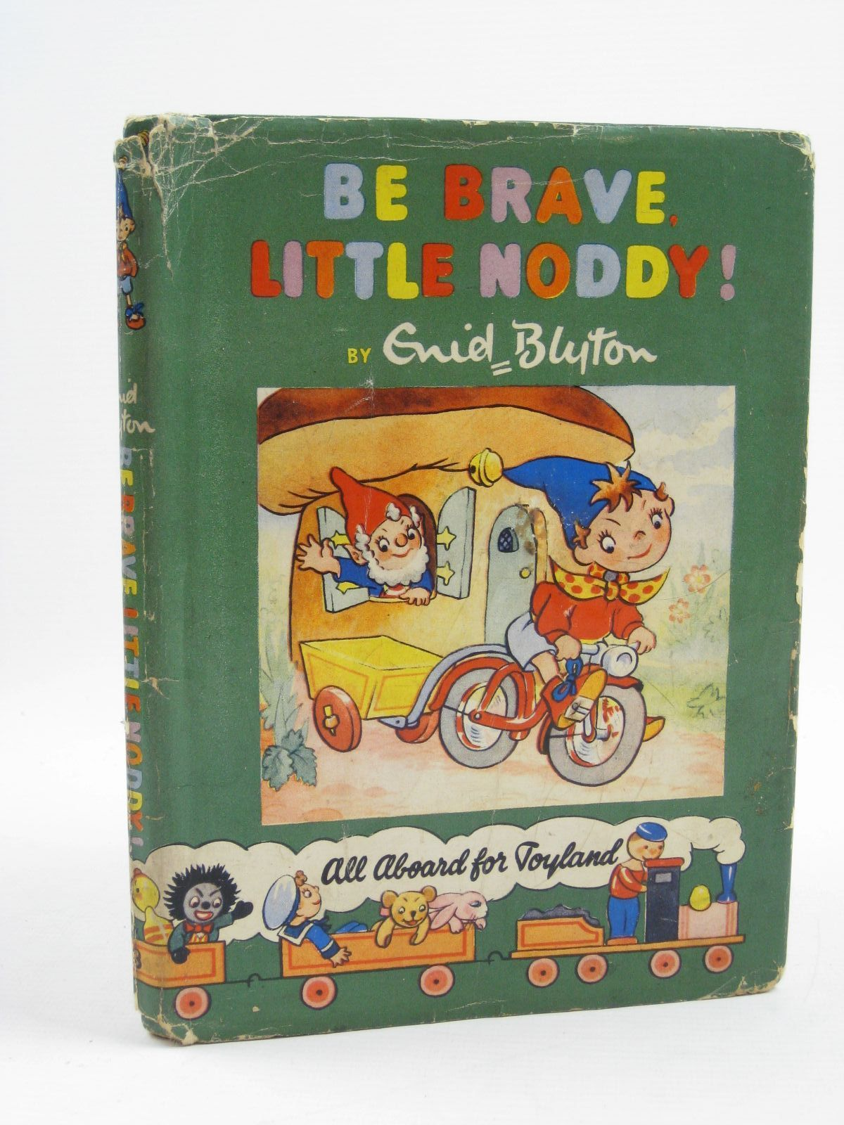 Photo of BE BRAVE, LITTLE NODDY! written by Blyton, Enid illustrated by Wienk, Peter published by Sampson Low, Marston & Co. Ltd., Dennis Dobson (STOCK CODE: 1406999)  for sale by Stella & Rose's Books