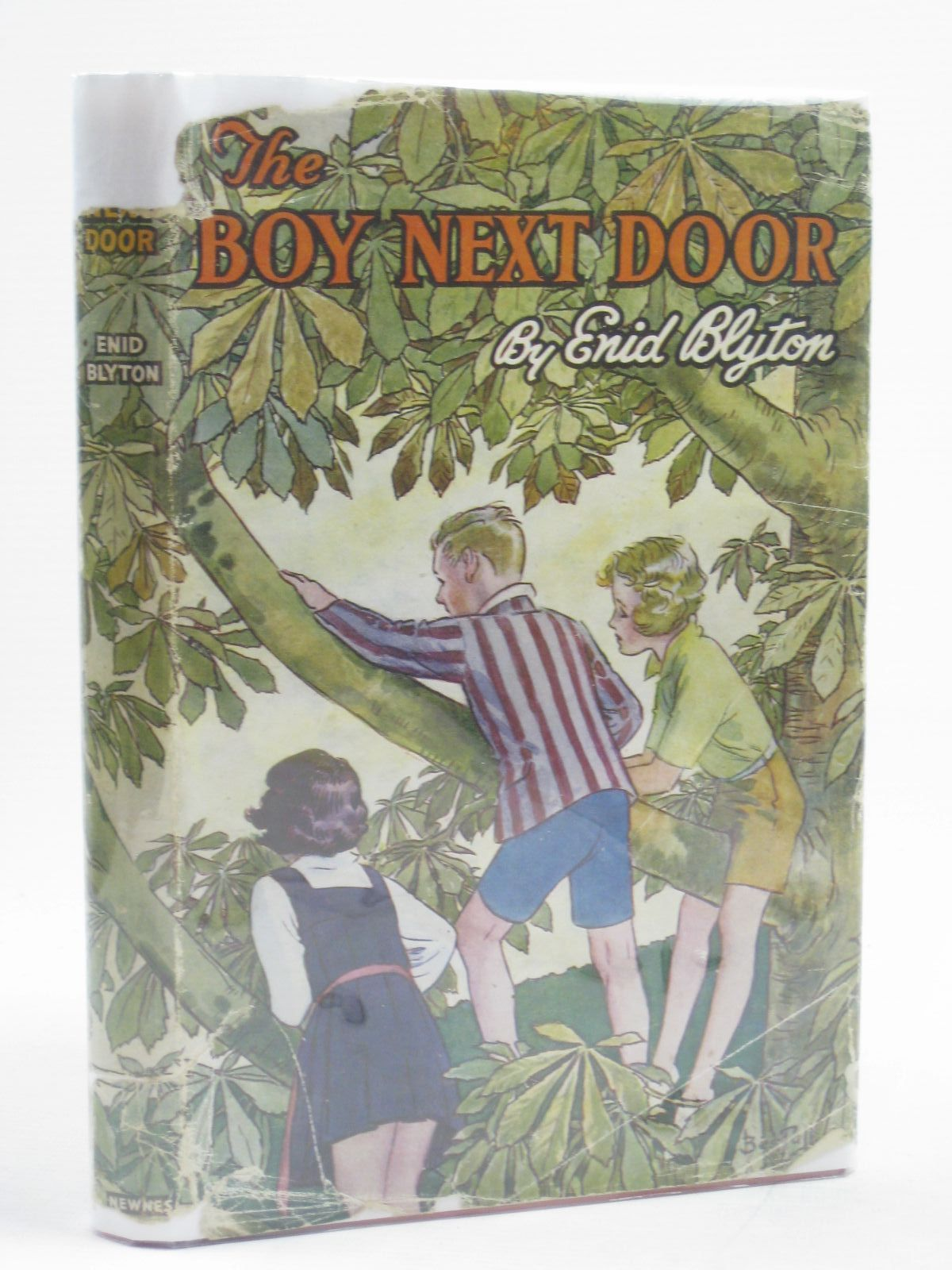 Photo of THE BOY NEXT DOOR written by Blyton, Enid illustrated by Bestall, Alfred published by George Newnes Ltd. (STOCK CODE: 1407030)  for sale by Stella & Rose's Books
