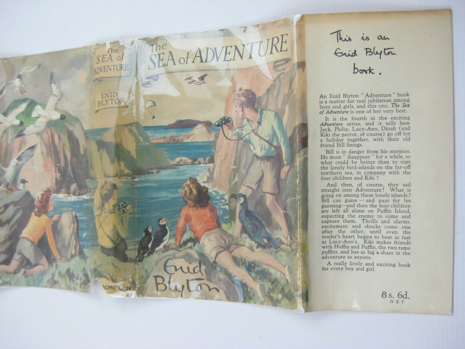 Photo of THE SEA OF ADVENTURE written by Blyton, Enid illustrated by Tresilian, Stuart published by Macmillan & Co. Ltd. (STOCK CODE: 1407031)  for sale by Stella & Rose's Books