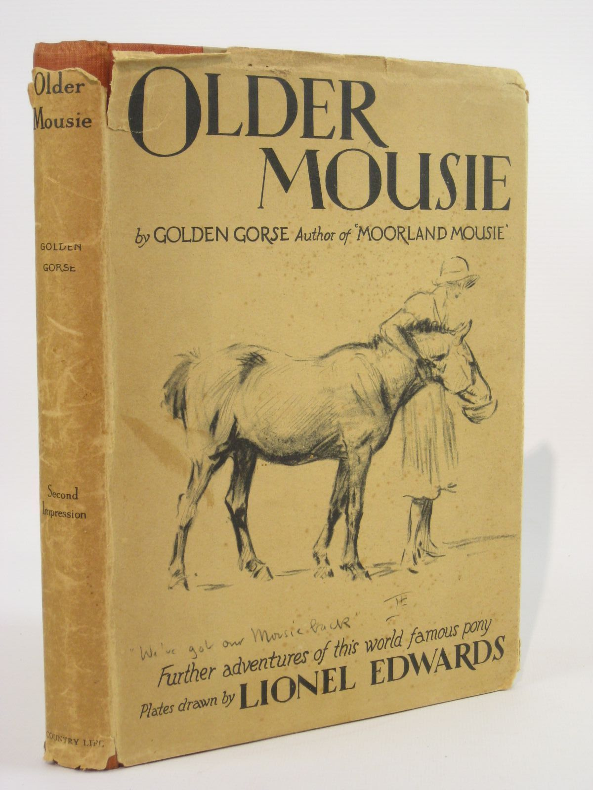 Photo of OLDER MOUSIE written by Golden Gorse,  illustrated by Edwards, Lionel published by Country Life Limited (STOCK CODE: 1407072)  for sale by Stella & Rose's Books