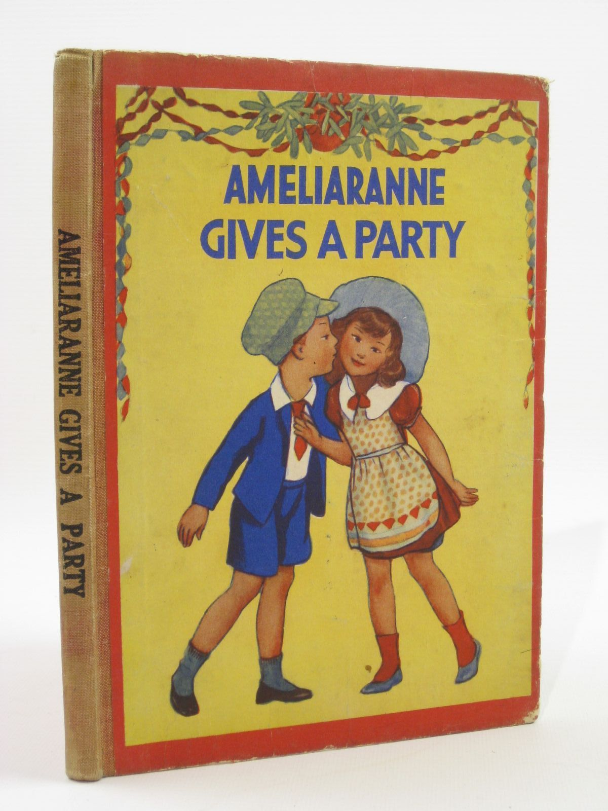 Photo of AMELIARANNE GIVES A PARTY written by Heward, Constance illustrated by Pearse, S.B. published by George G. Harrap & Co. Ltd. (STOCK CODE: 1407087)  for sale by Stella & Rose's Books