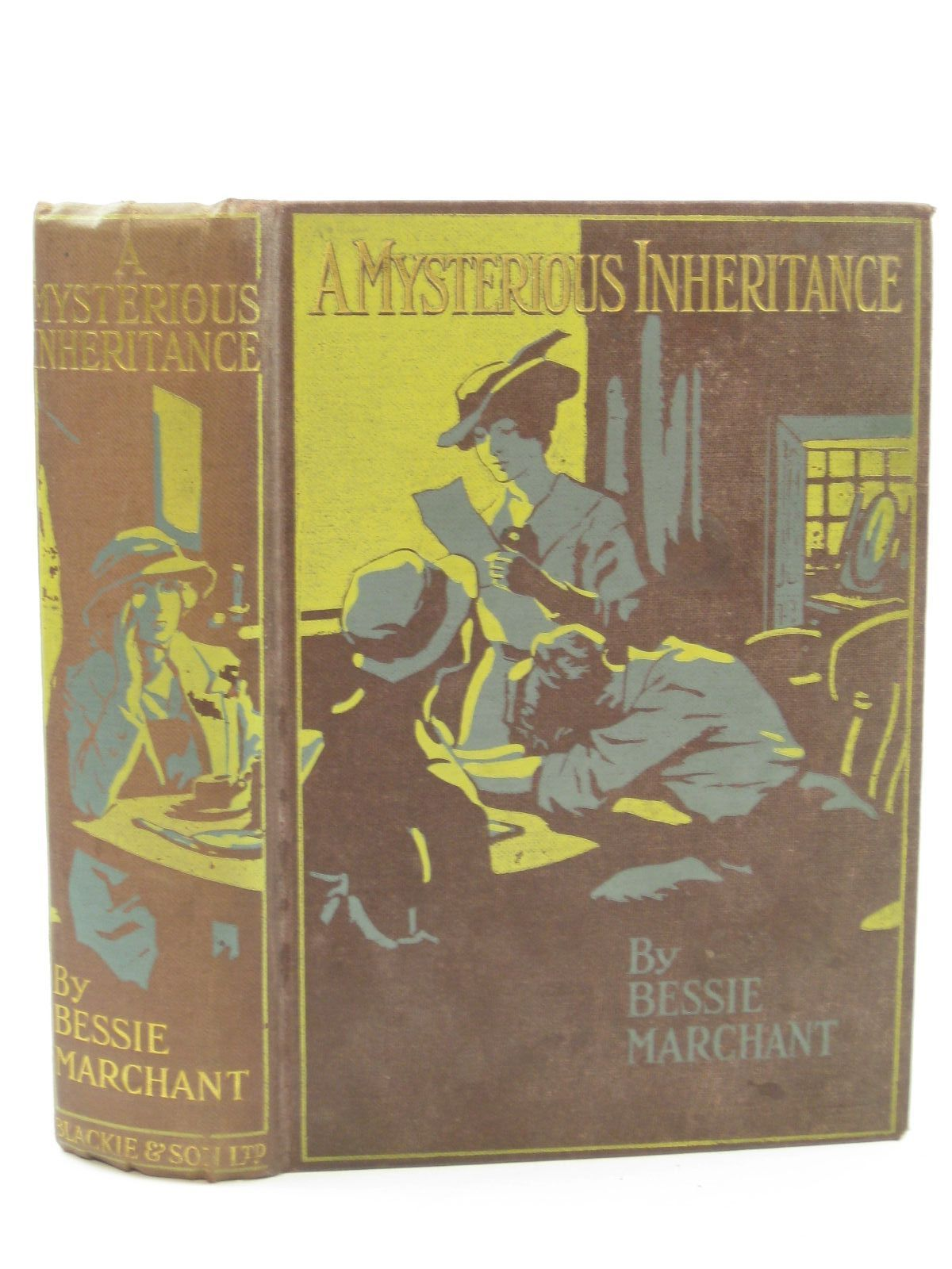 Photo of A MYSTERIOUS INHERITANCE written by Marchant, Bessie illustrated by Cuneo, Cyrus published by Blackie & Son Ltd. (STOCK CODE: 1407109)  for sale by Stella & Rose's Books