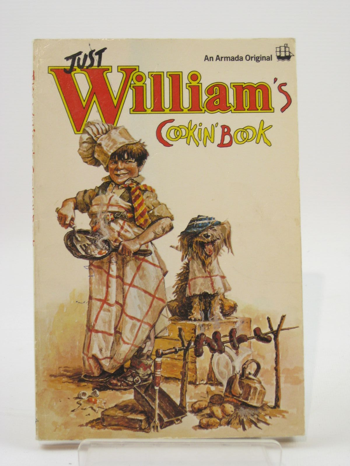 Photo of JUST WILLIAM'S COOKIN' BOOK written by Reid, David illustrated by Gavin, Pat published by Armada (STOCK CODE: 1407132)  for sale by Stella & Rose's Books