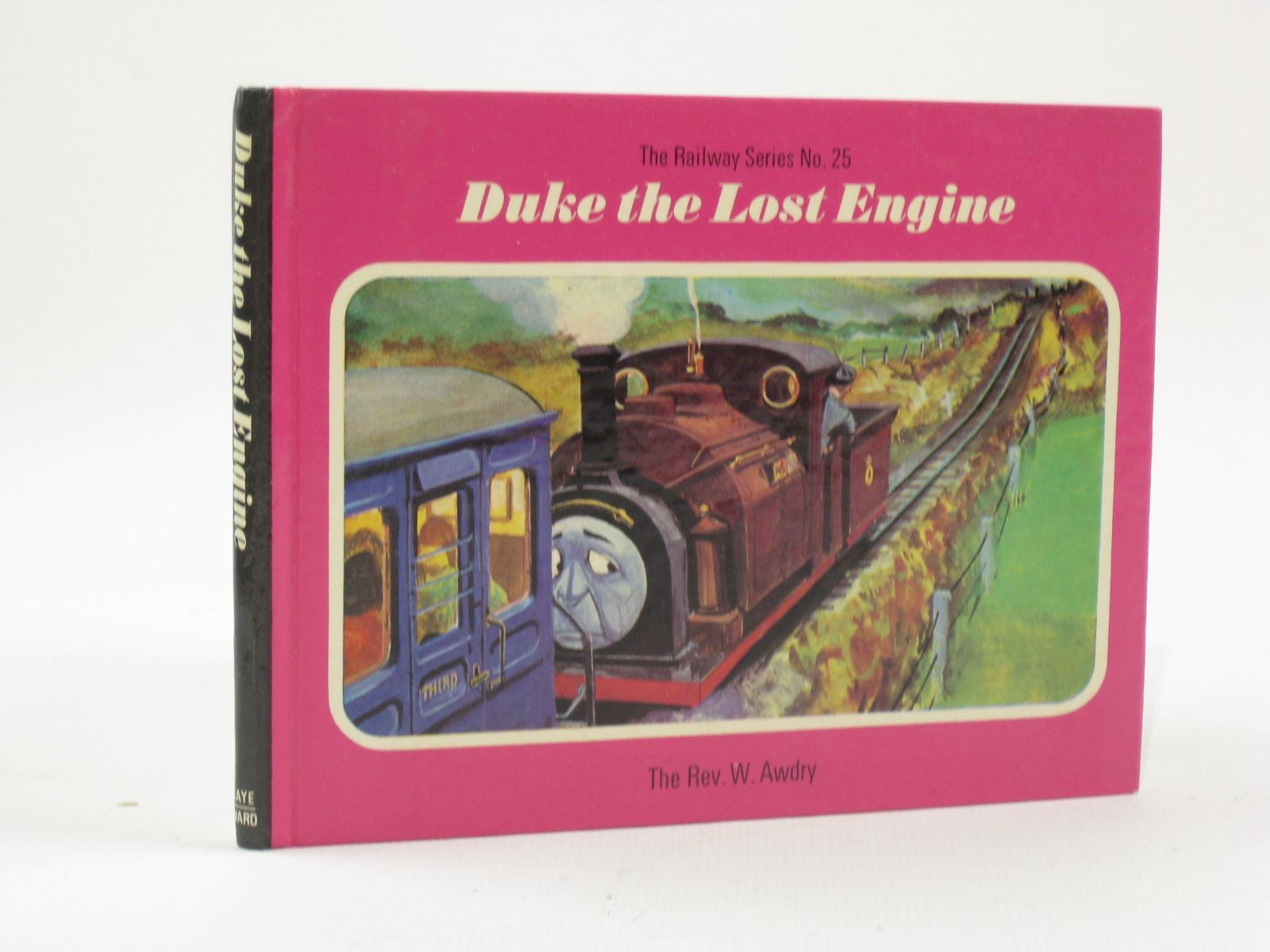 Photo of DUKE THE LOST ENGINE written by Awdry, Rev. W. illustrated by Edwards, Gunvor Edwards, Peter published by Kaye & Ward (STOCK CODE: 1407137)  for sale by Stella & Rose's Books