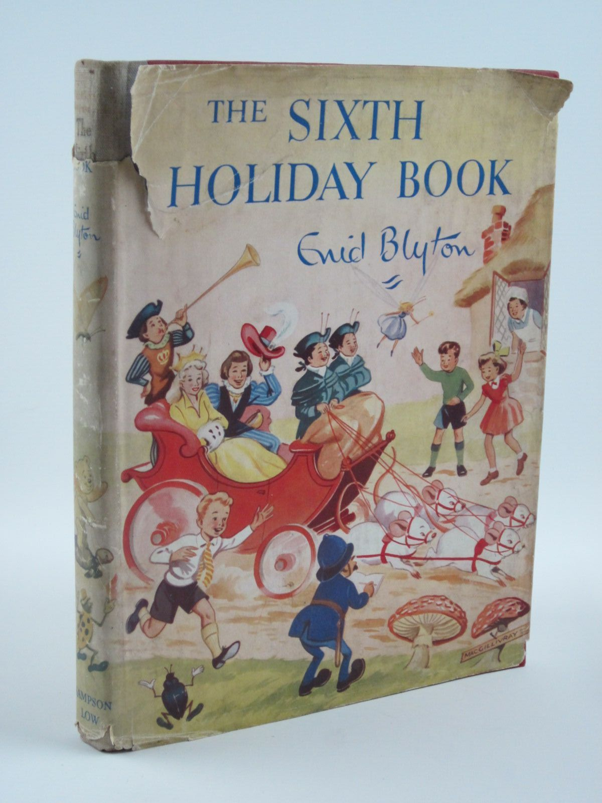 Photo of THE SIXTH HOLIDAY BOOK written by Blyton, Enid illustrated by Steed, Cicely MacGillivray, Robert McGavin, Hilda Sheppard, Raymond et al.,  published by Sampson Low, Marston & Co. Ltd. (STOCK CODE: 1501297)  for sale by Stella & Rose's Books
