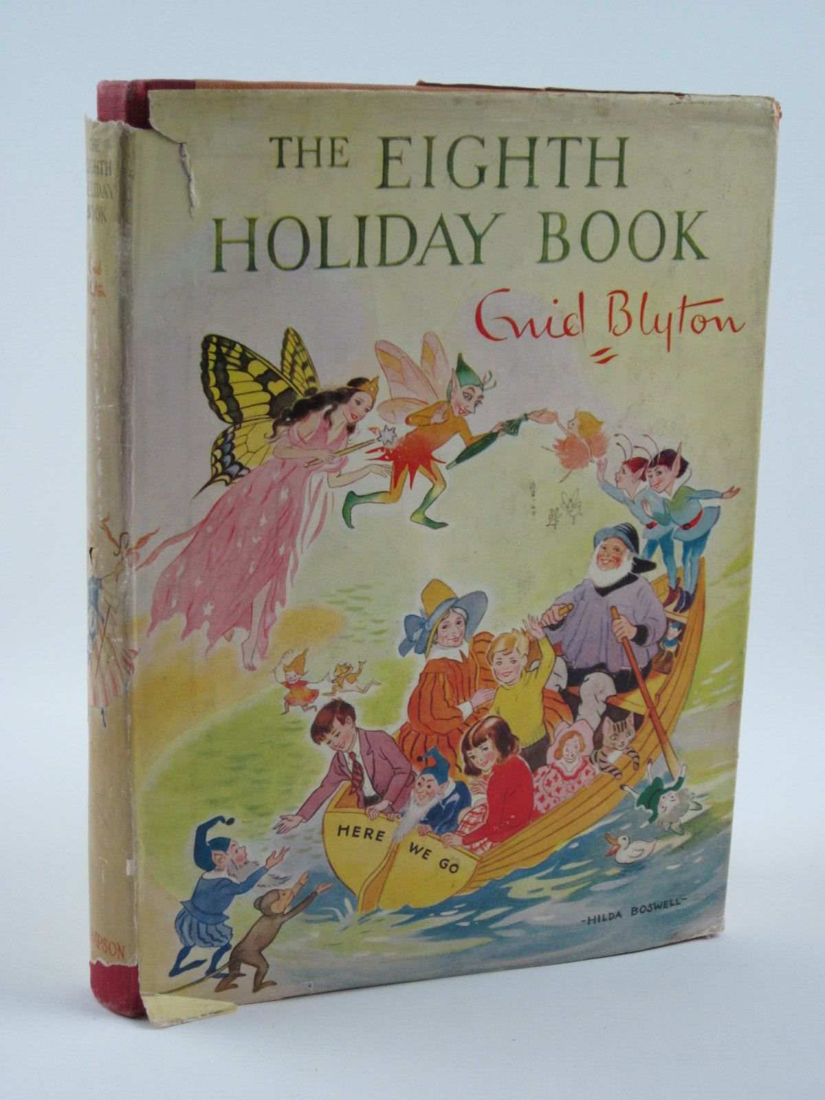 Photo of THE EIGHTH HOLIDAY BOOK written by Blyton, Enid illustrated by Dawson, E.M. Lodge, Grace et al.,  published by Sampson Low, Marston & Co. Ltd. (STOCK CODE: 1501299)  for sale by Stella & Rose's Books