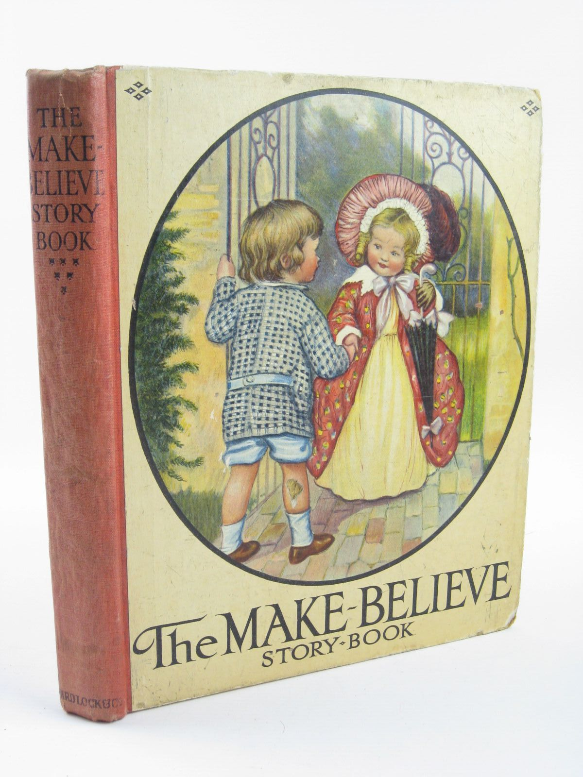 Photo of THE MAKE-BELIEVE STORY BOOK written by Peacocke, Isabel M.<br />Leigh, Felix<br />et al,  illustrated by Wain, Louis<br />Anderson, Anne<br />Robinson, W. Heath published by Ward, Lock &amp; Co. Ltd. (STOCK CODE: 1501390)  for sale by Stella & Rose's Books
