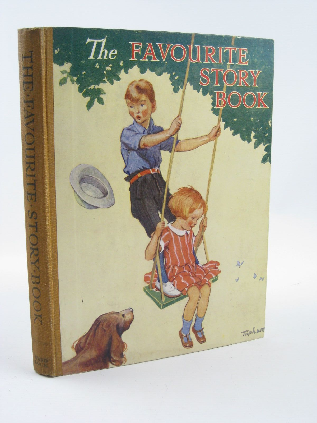 Photo of THE FAVOURITE STORY BOOK illustrated by Wain, Louis Lambert, H.G.C. Marsh Robinson, Gordon Anderson, Anne Topham, Inez et al.,  published by Ward, Lock & Co. Limited (STOCK CODE: 1501391)  for sale by Stella & Rose's Books