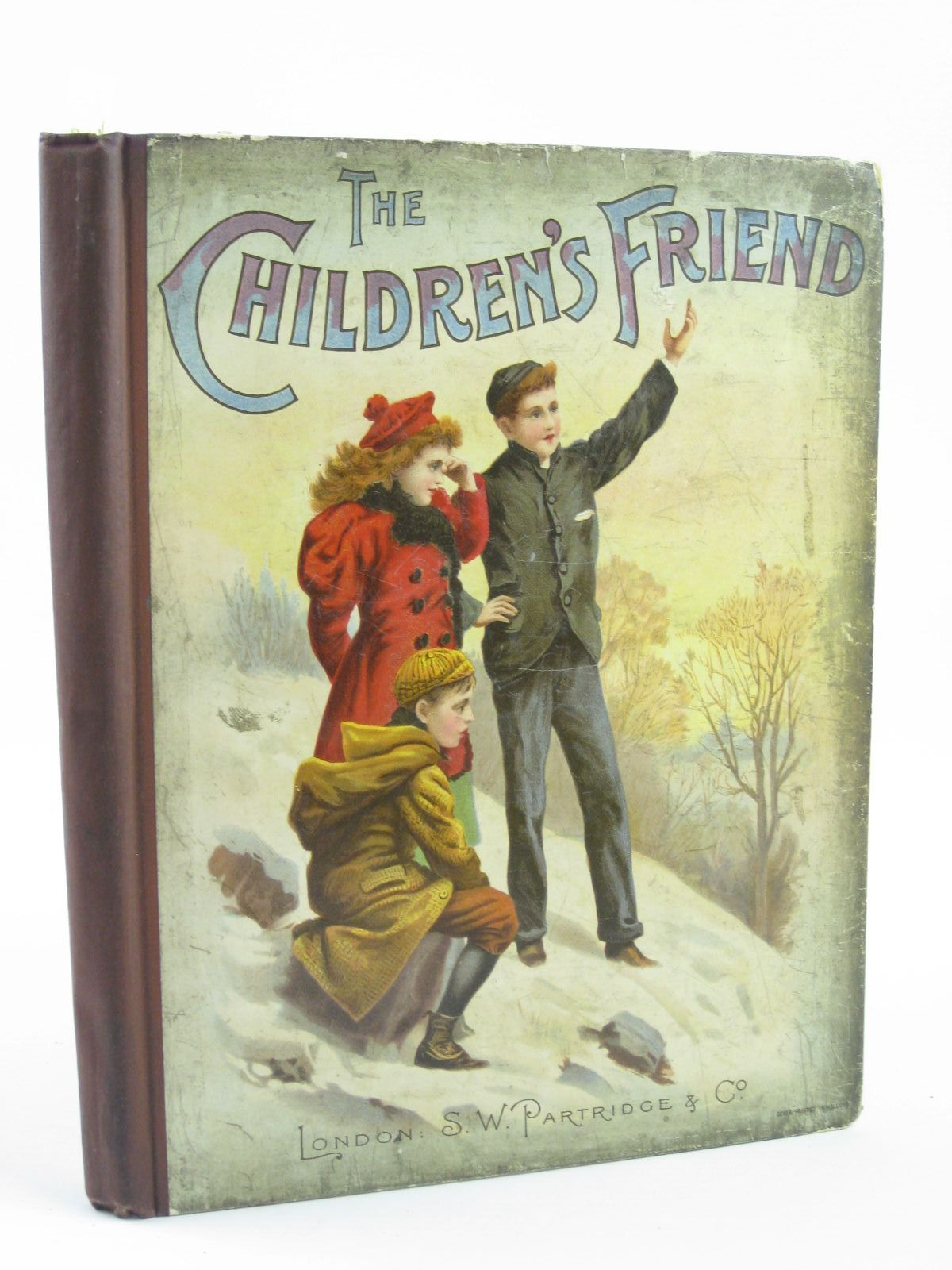 Photo of THE CHILDREN'S FRIEND VOLUME XXXVII - 1897 written by Waterworth, E.M. Potter, F. Scarlett Chappell, Jennie et al,  illustrated by Wain, Louis Soper, George et al.,  published by S.W. Partridge & Co. (STOCK CODE: 1501396)  for sale by Stella & Rose's Books