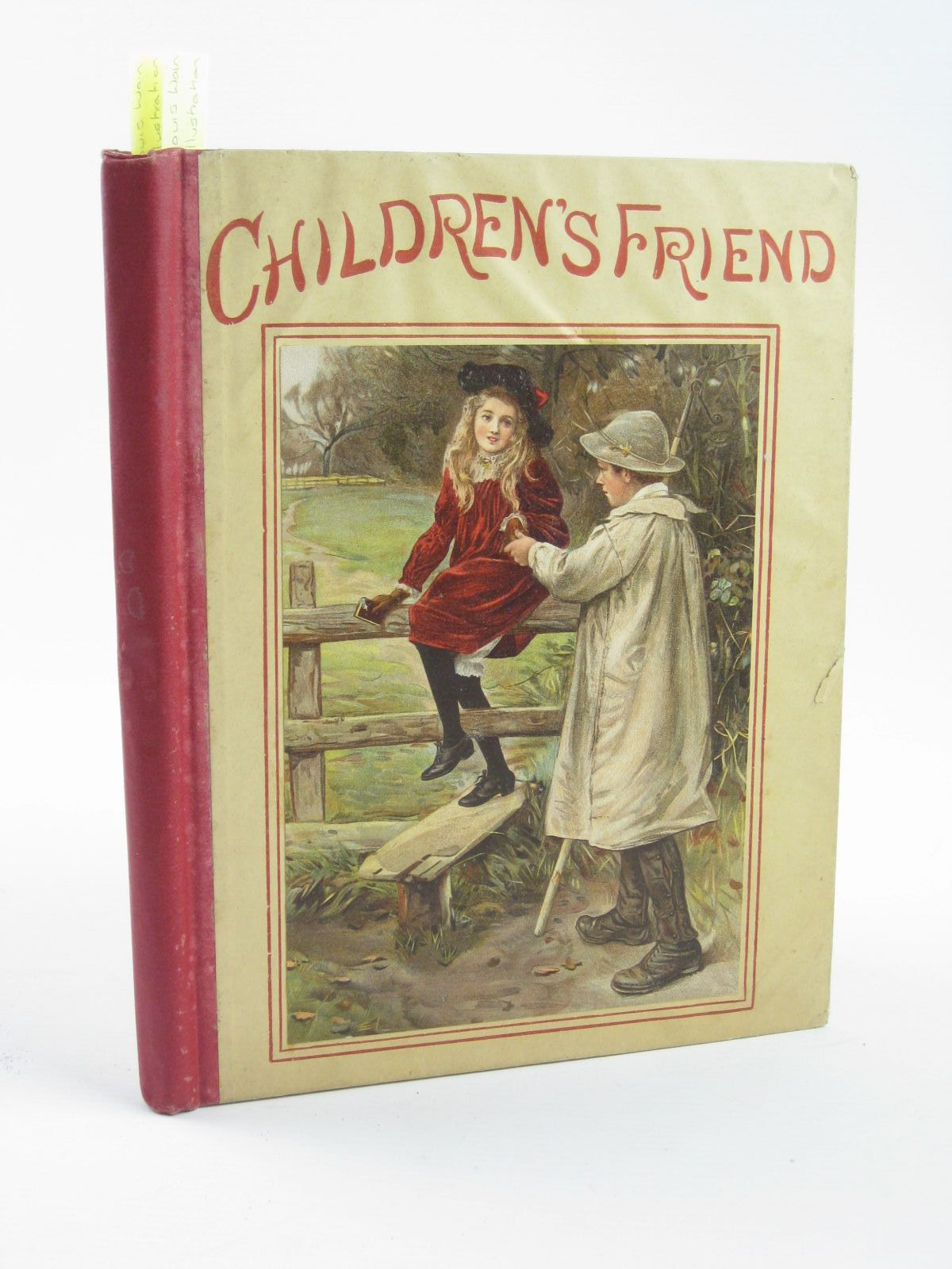 Photo of THE CHILDREN'S FRIEND VOLUME XXXVI - 1896 written by Potter, F. Scarlett Waterworth, E.M. et al,  illustrated by Groome, W.H.C. Wain, Louis Rainey, W. et al.,  published by S.W. Partridge & Co. (STOCK CODE: 1501399)  for sale by Stella & Rose's Books