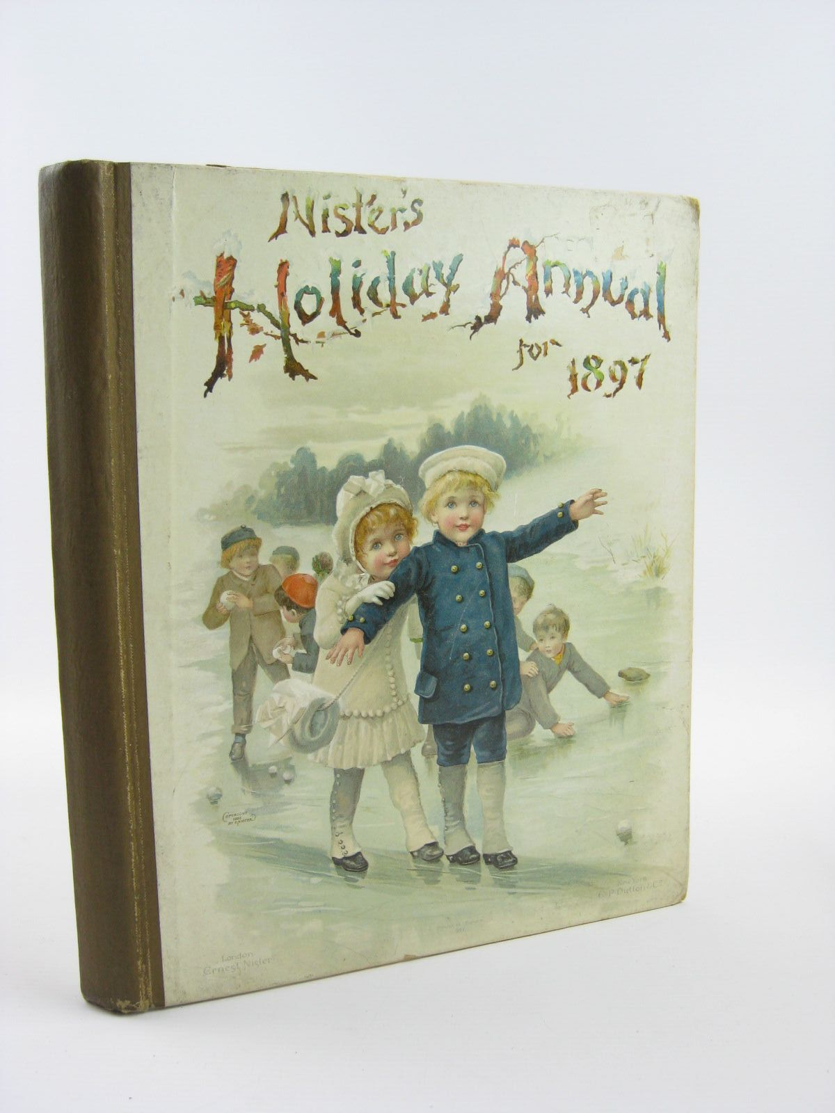 Photo of NISTER'S HOLIDAY ANNUAL FOR 1897 written by Fuller, Alfred J. Mack, Robert Ellis Weedon, L.L. Bingham, Clifton Nesbit, E. et al,  illustrated by Wain, Louis Foster, W. et al.,  published by Ernest Nister (STOCK CODE: 1501405)  for sale by Stella & Rose's Books
