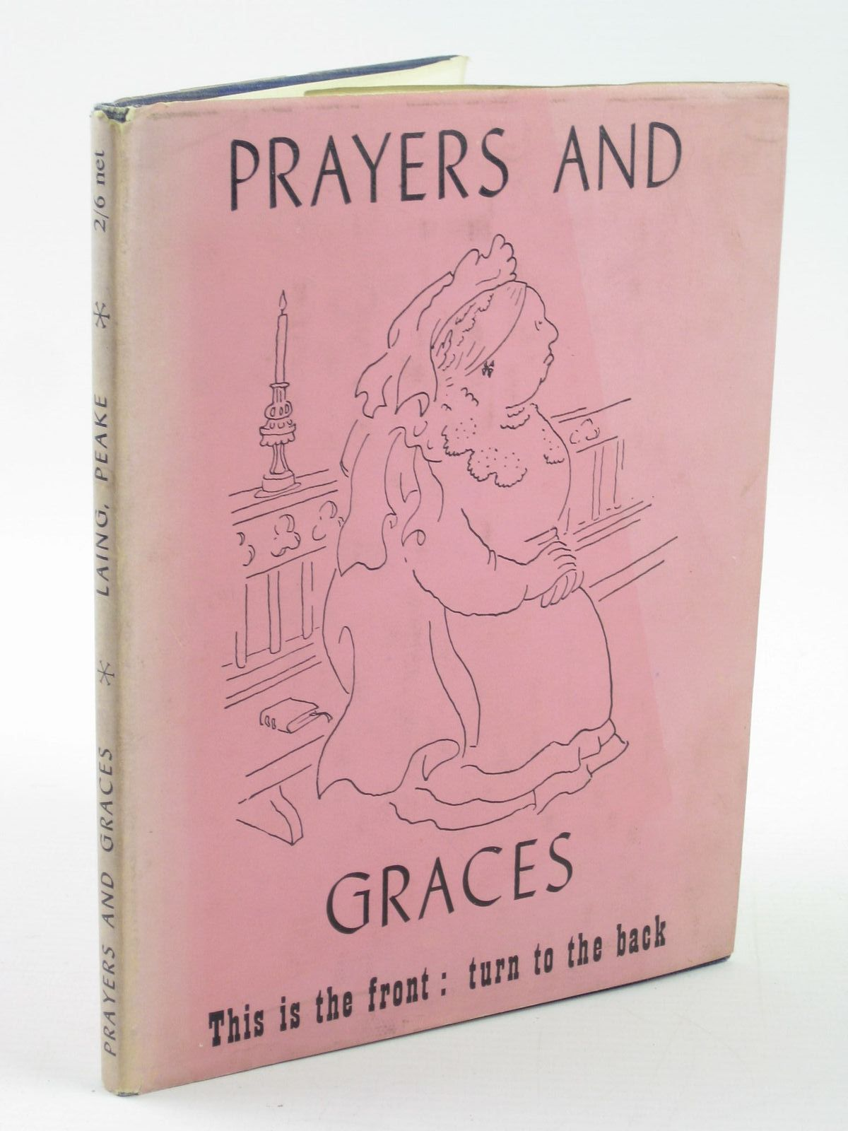 Photo of PRAYERS AND GRACES written by Laing, Allan M. illustrated by Peake, Mervyn published by Victor Gollancz Ltd. (STOCK CODE: 1501537)  for sale by Stella & Rose's Books