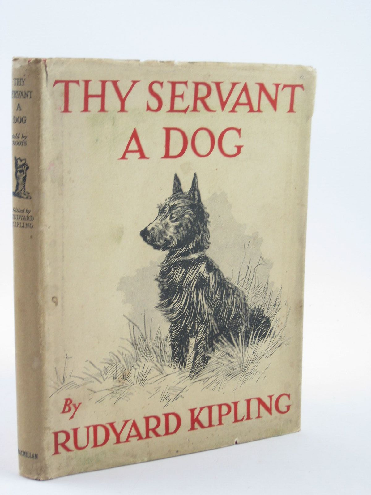 Photo of THY SERVANT A DOG written by Kipling, Rudyard illustrated by Stampa, G.L. published by Macmillan & Co. Ltd. (STOCK CODE: 1501561)  for sale by Stella & Rose's Books